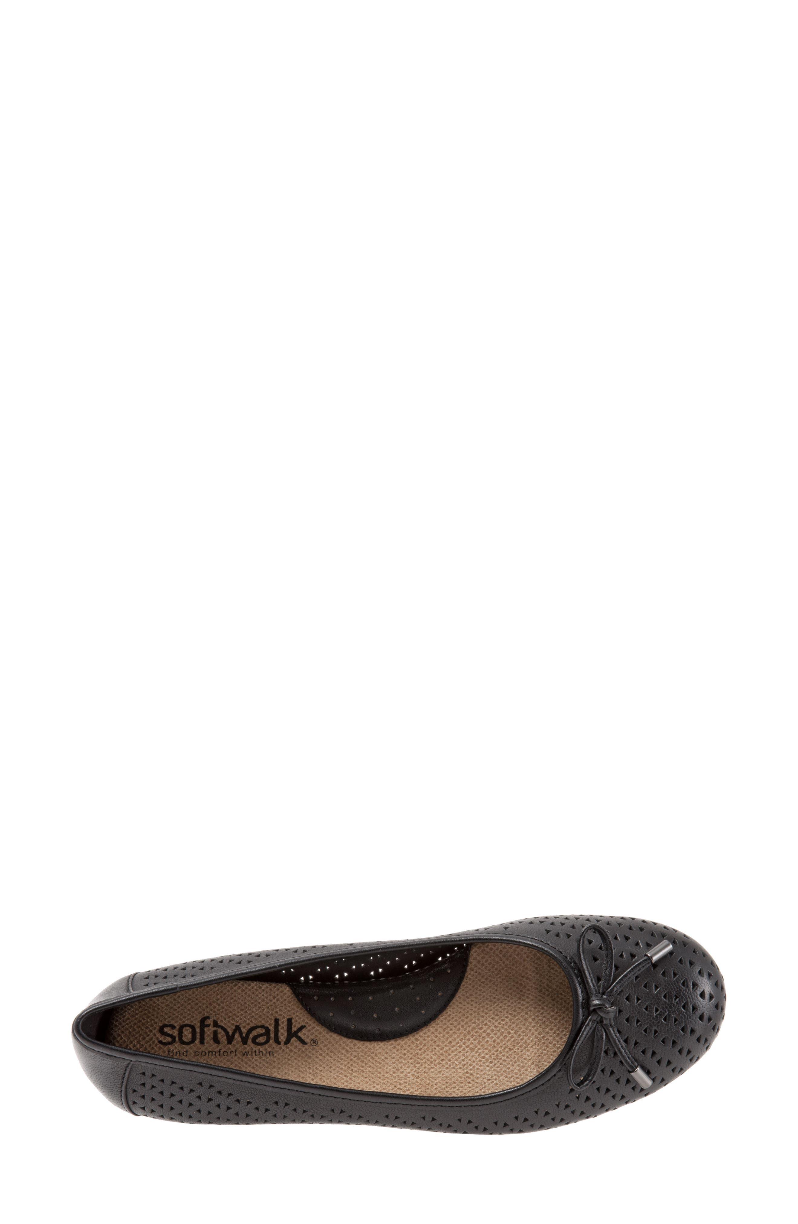 Napa Flat,                             Alternate thumbnail 5, color,                             Black Leather