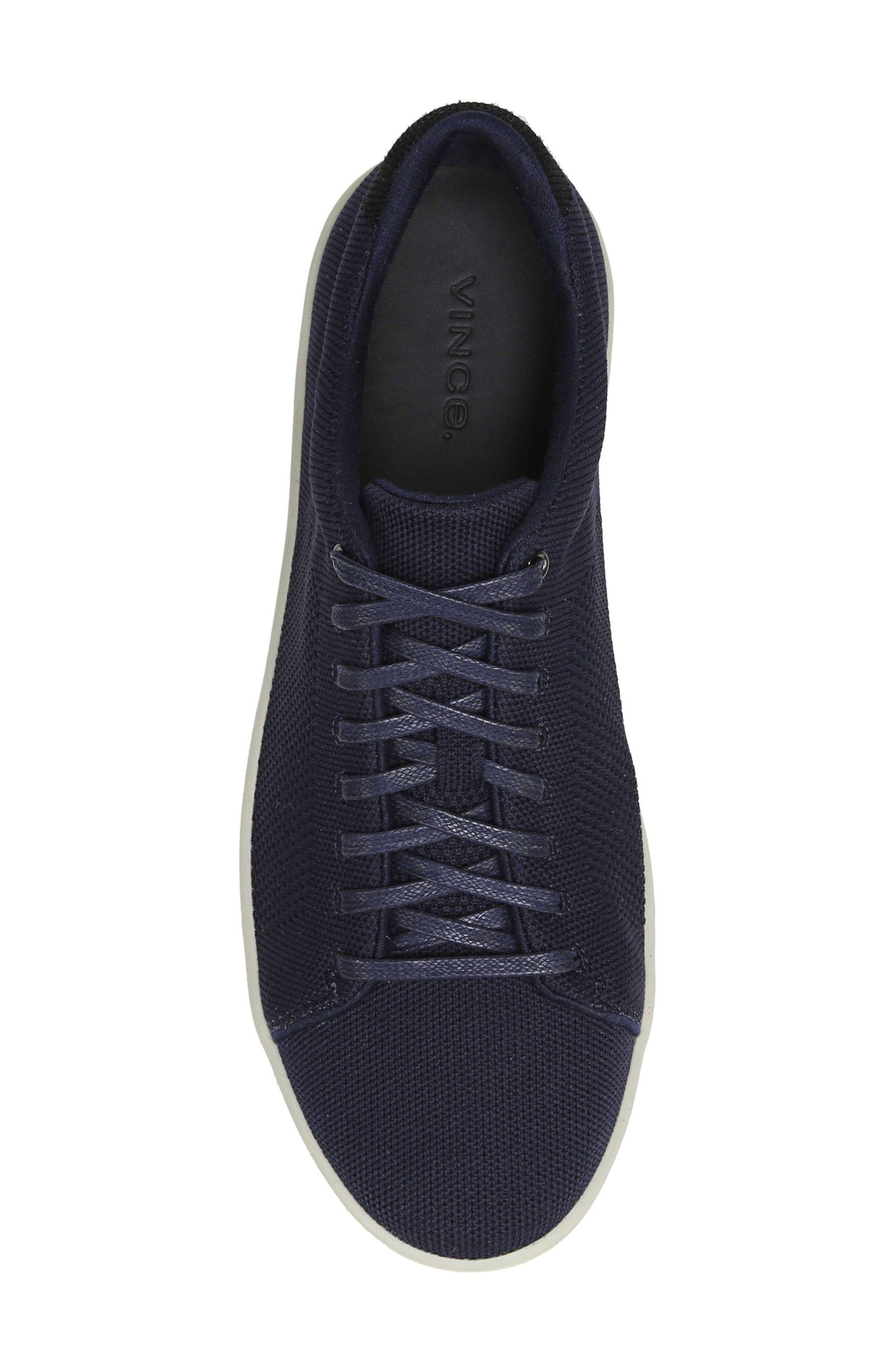Silos Knit Low Top Sneaker,                             Alternate thumbnail 5, color,                             Coastal