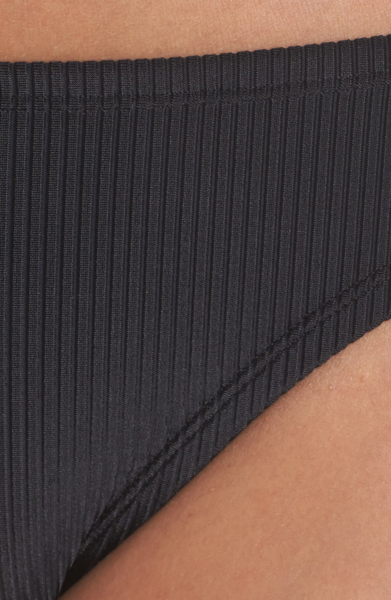Bikini Bottoms,                             Alternate thumbnail 8, color,                             Black