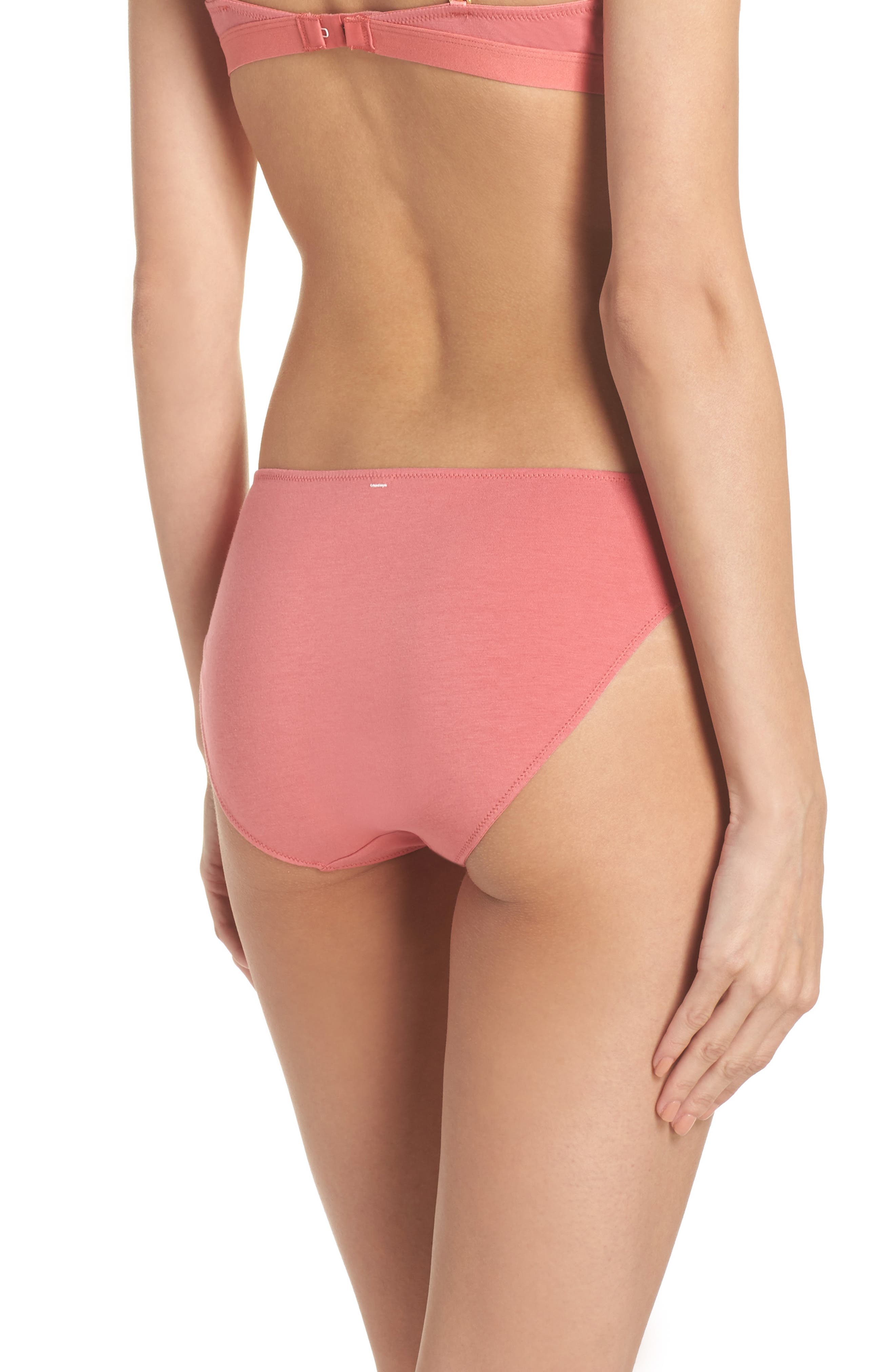 Alternate Image 2  - Madewell Jersey Bikini (3 for $33)