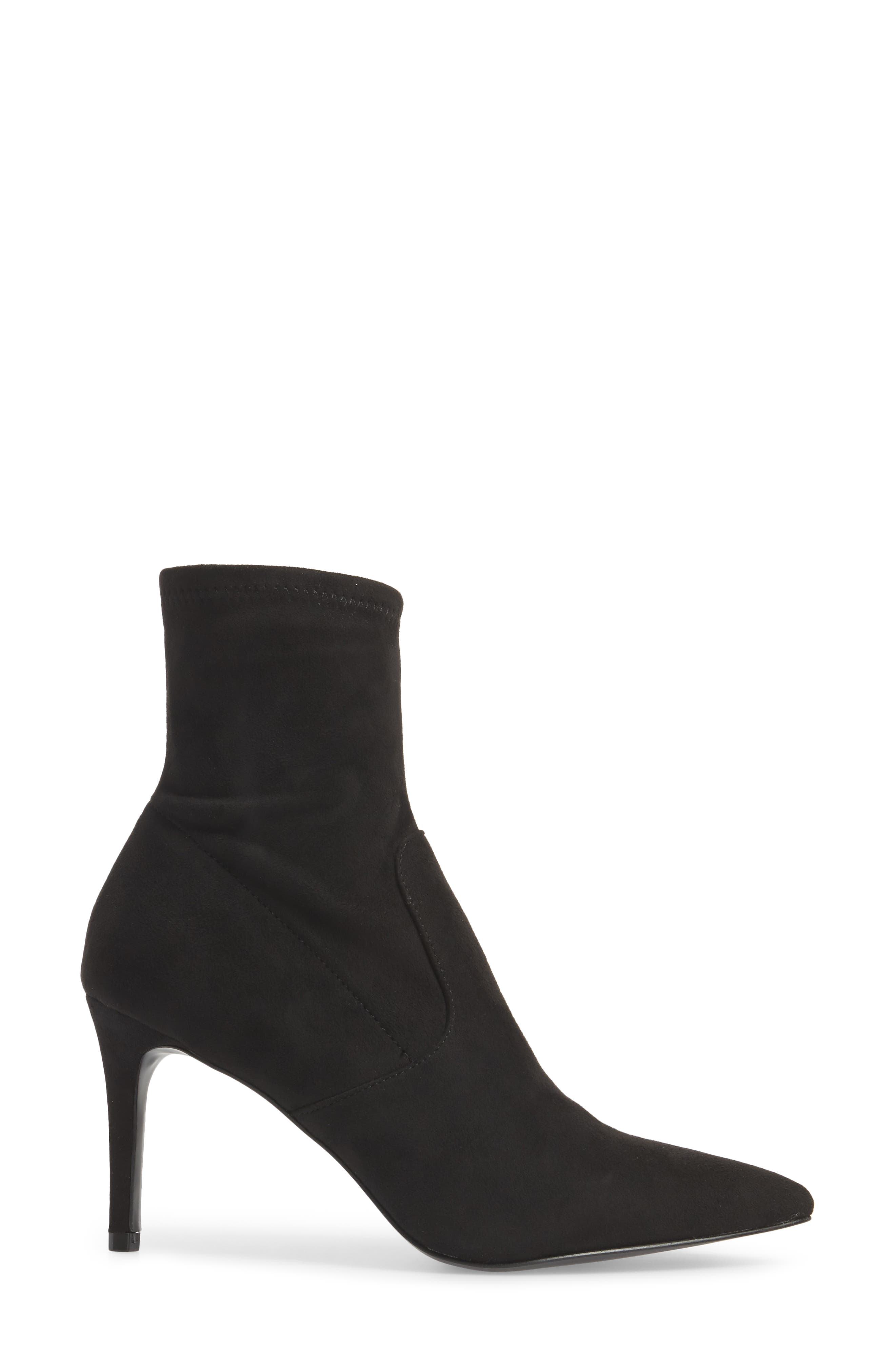 Lava Sock Bootie,                             Alternate thumbnail 3, color,                             Black