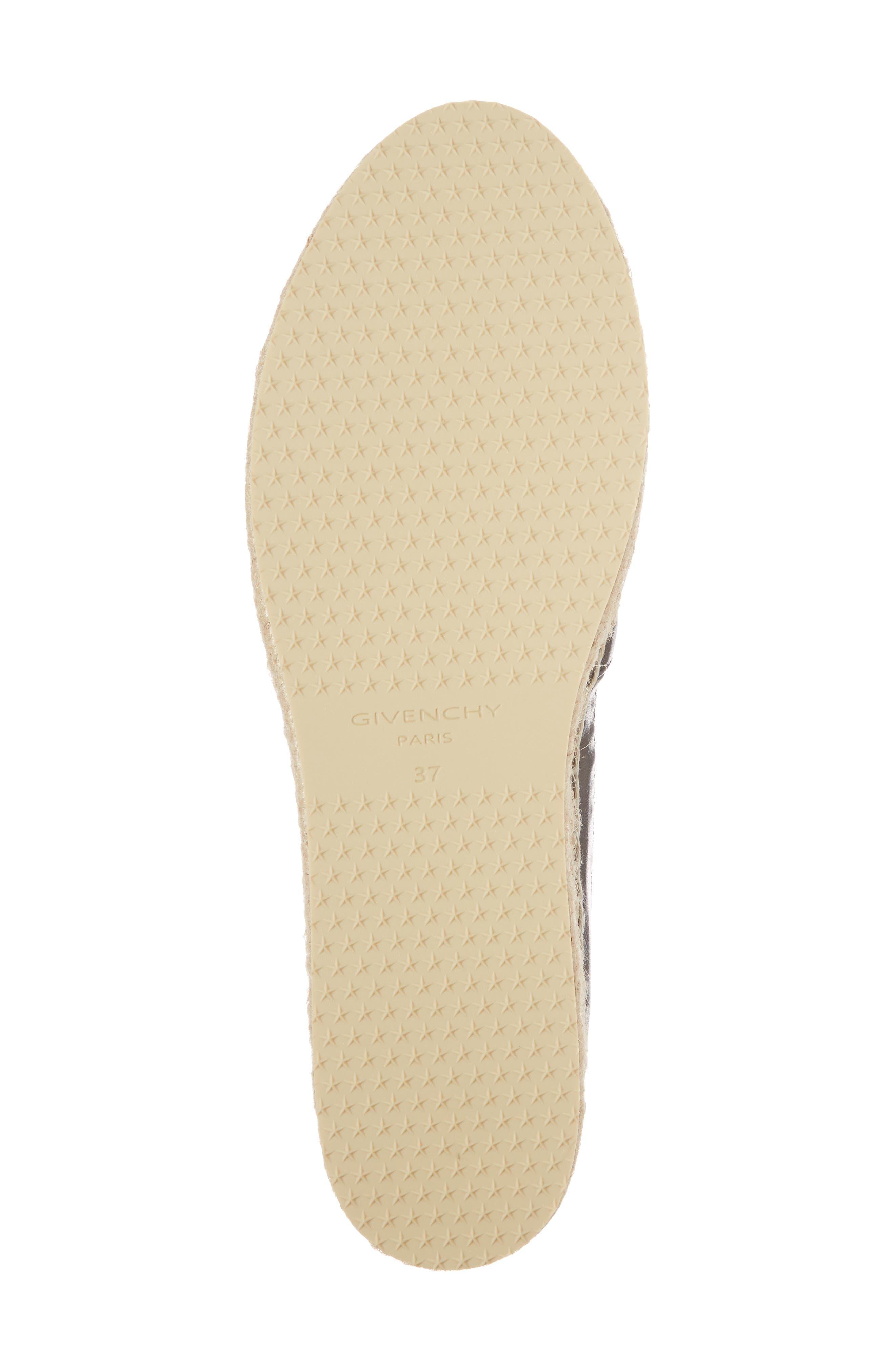 Alternate Image 6  - Givenchy Logotape Platform Espadrille (Women)