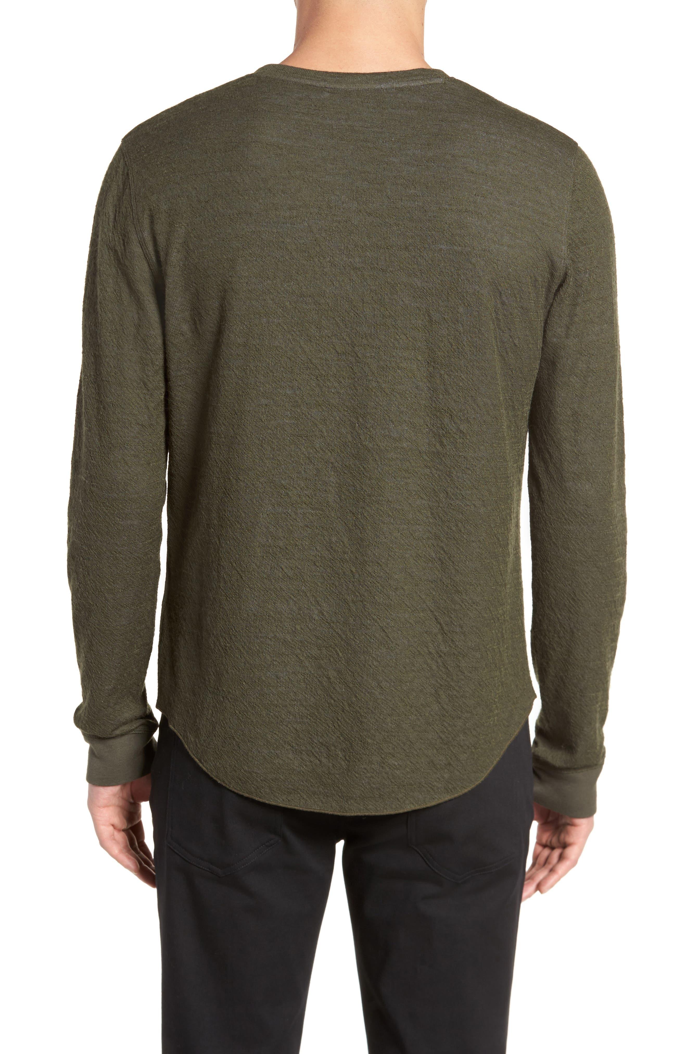 Alternate Image 3  - Vince Double Knit Long Sleeve Shirt