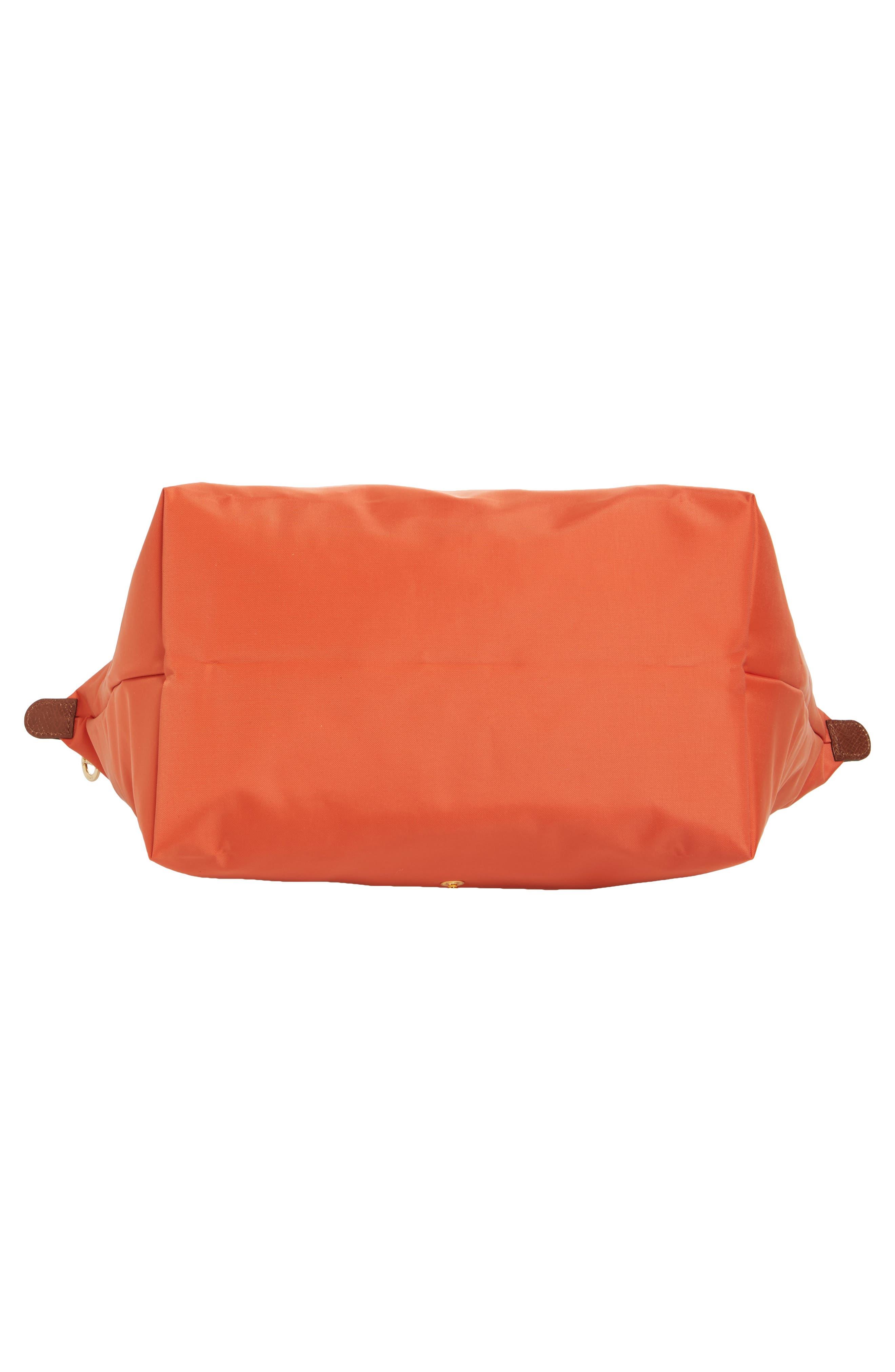 'Large Le Pliage' Tote,                             Alternate thumbnail 6, color,                             Orange