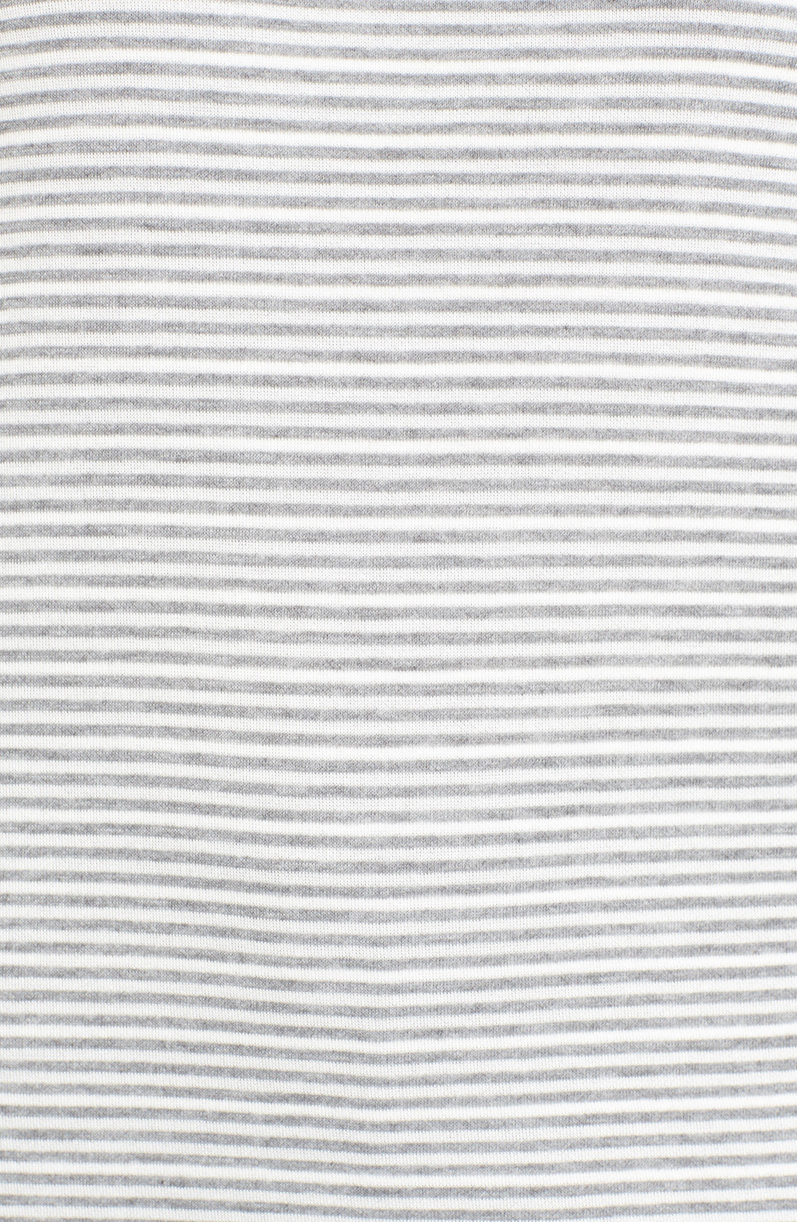 Alternate Image 5  - Chaus Mixed Stripe Top