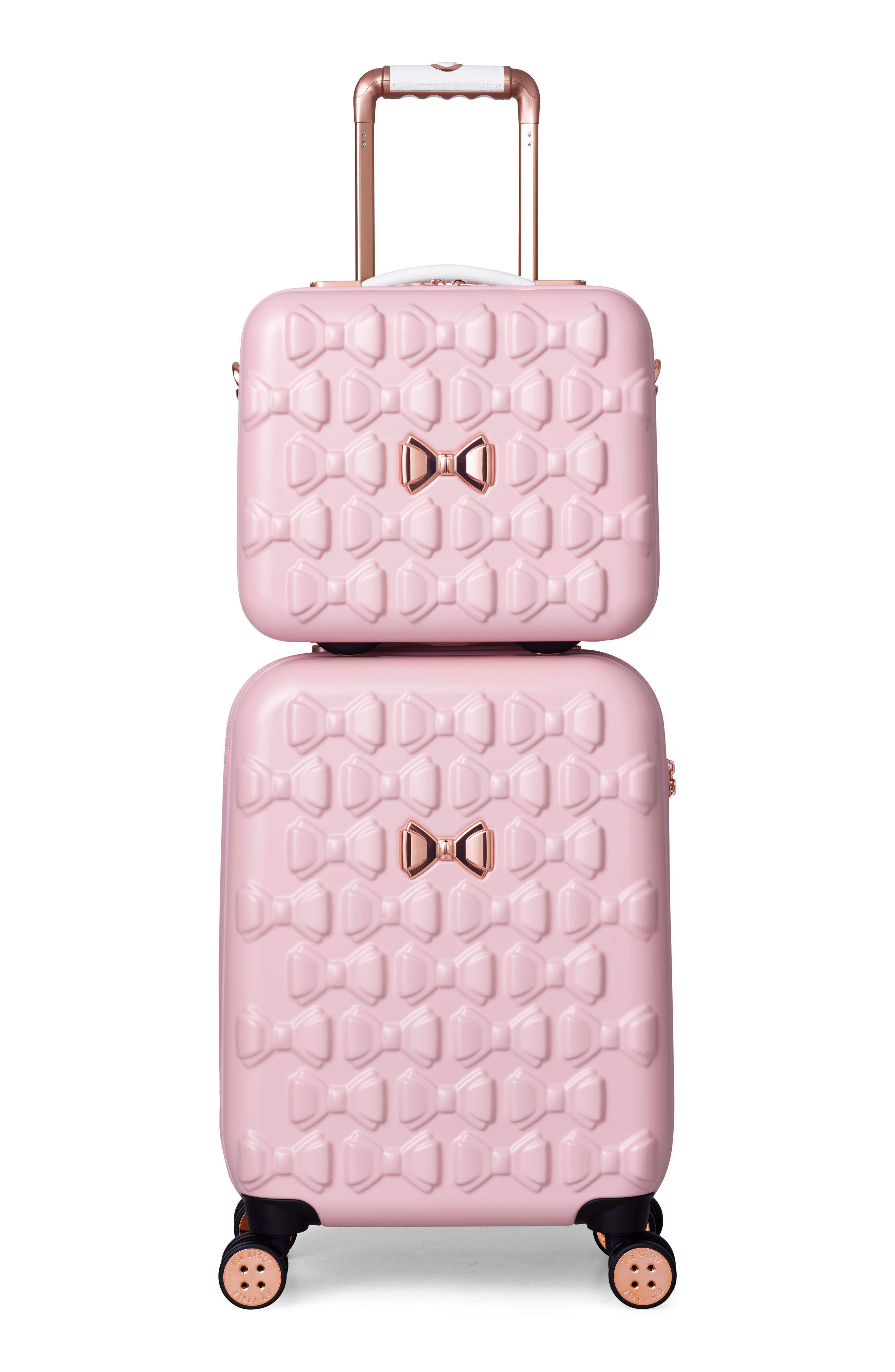 Beau Hardshell Vanity Case,                             Alternate thumbnail 6, color,                             Pink