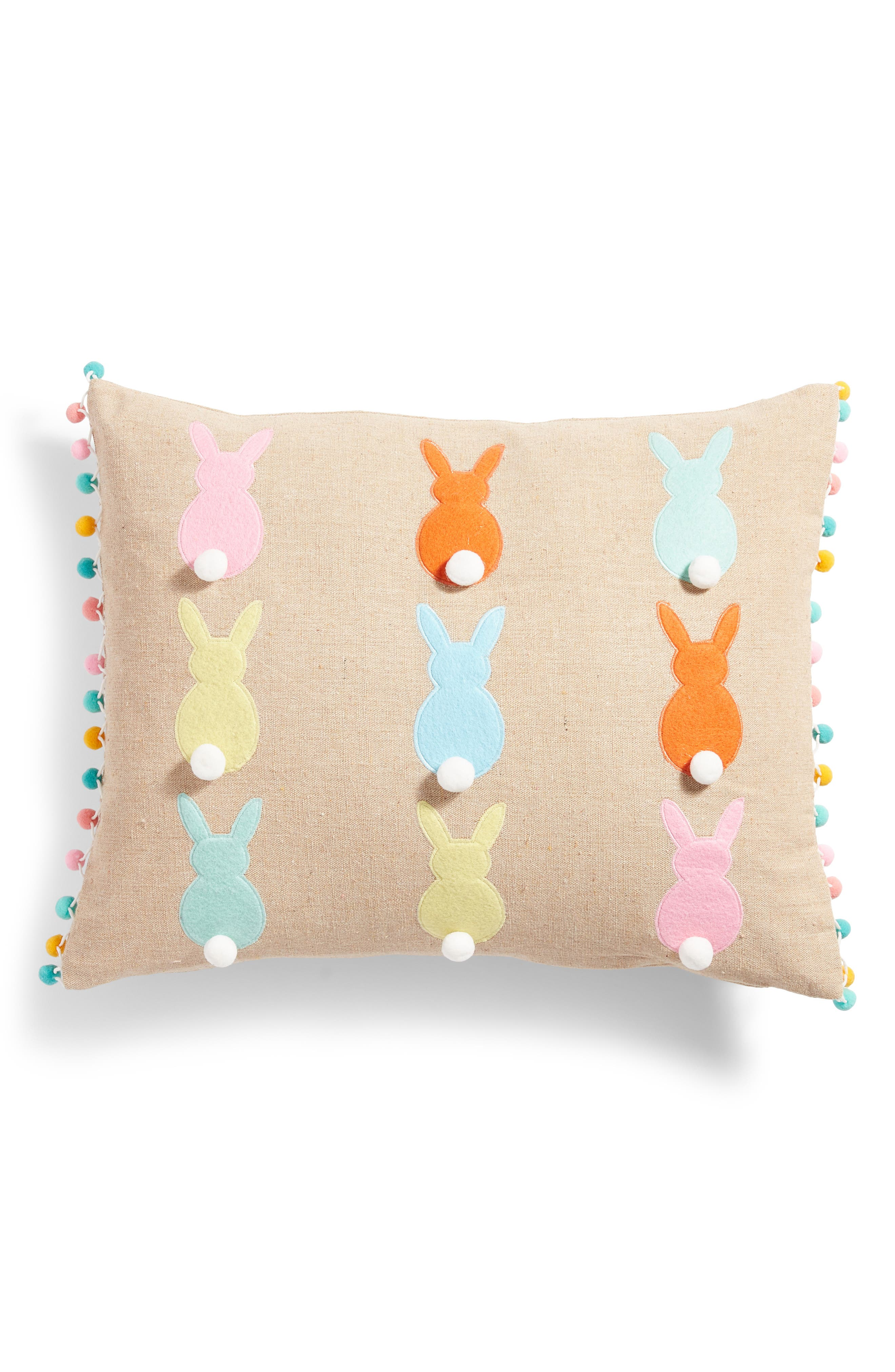 Levtex Bunny Silhouette Accent Pillow
