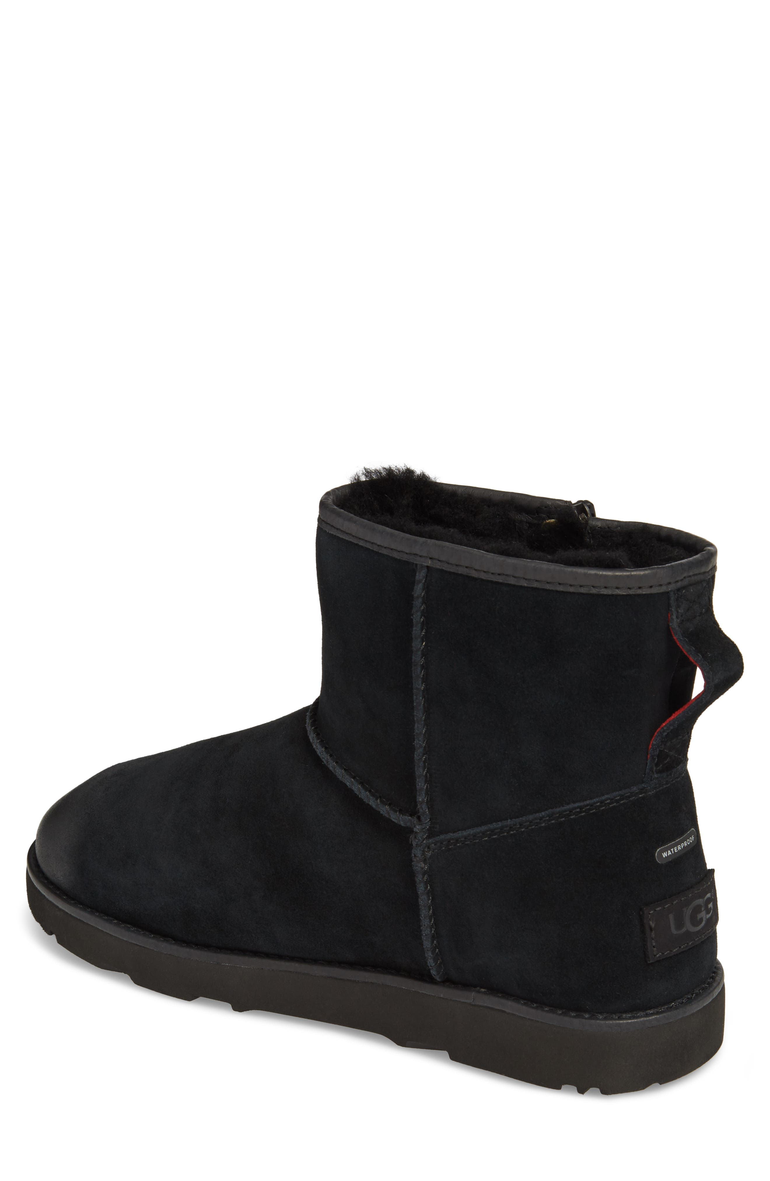 Alternate Image 2  - UGG® Mini Zip Waterproof Boot (Men)
