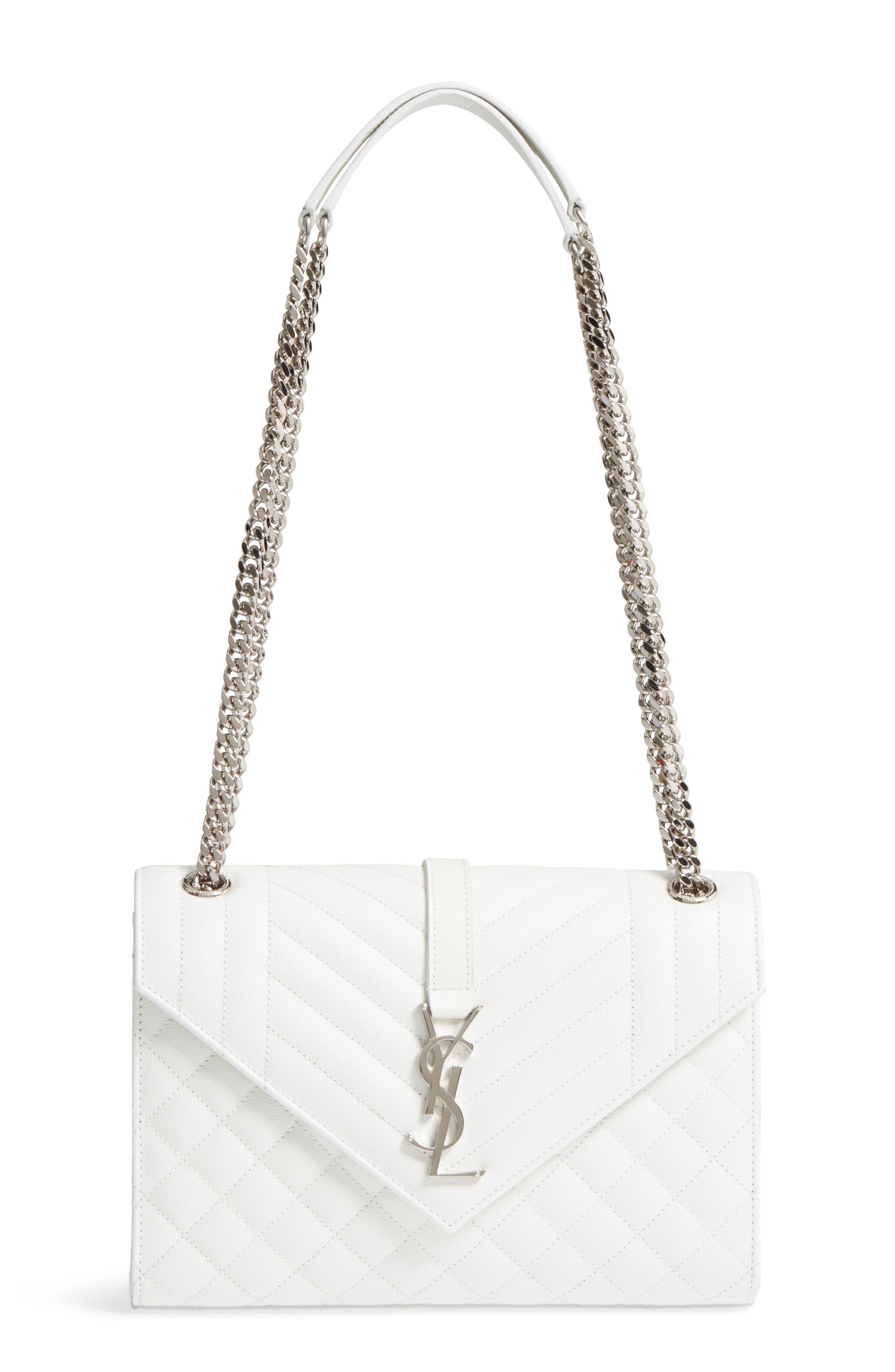 Saint Laurent Medium Calfskin Shoulder Bag