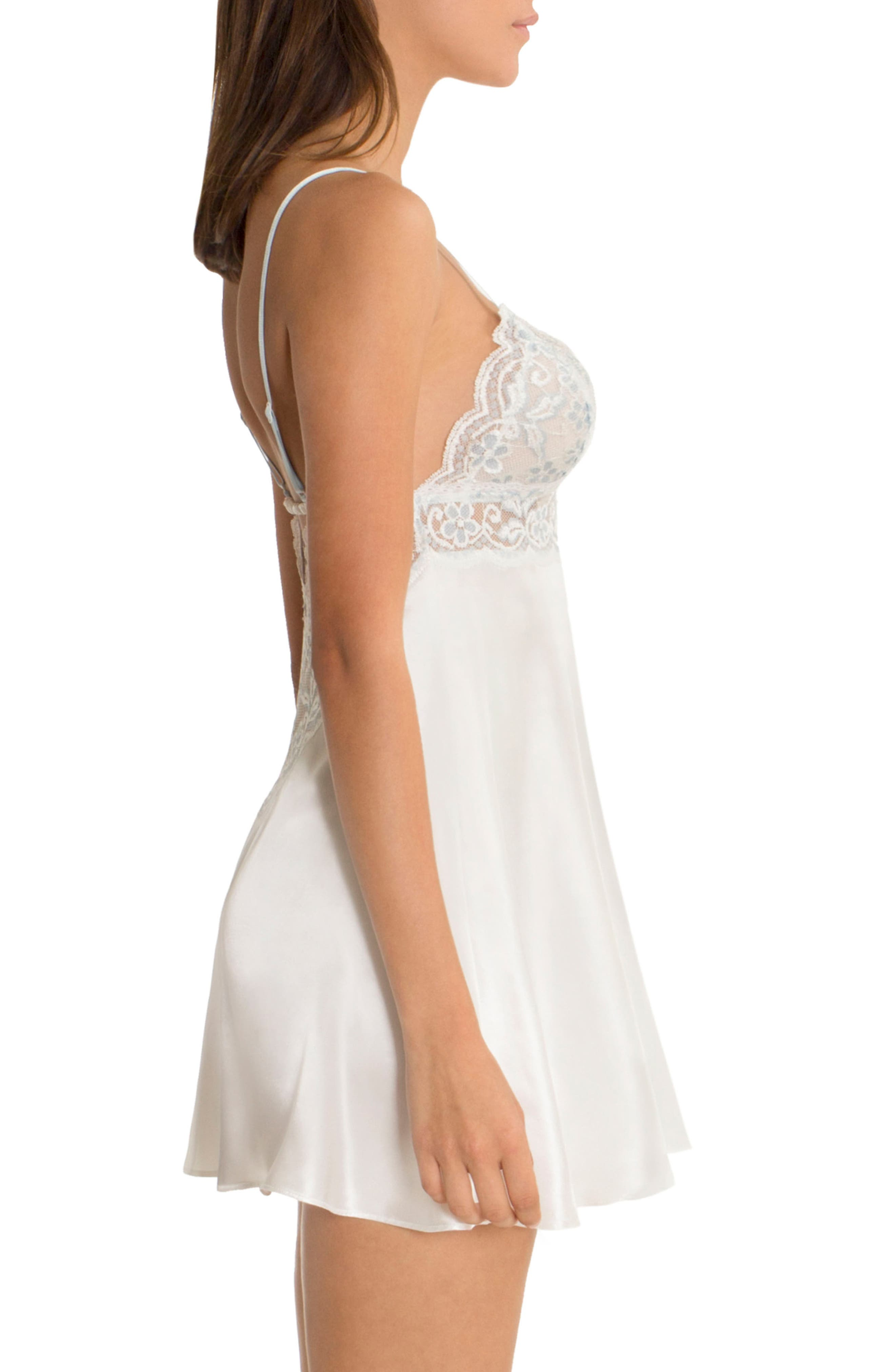 Alternate Image 3  - In Bloom by Jonquil Lace Chemise