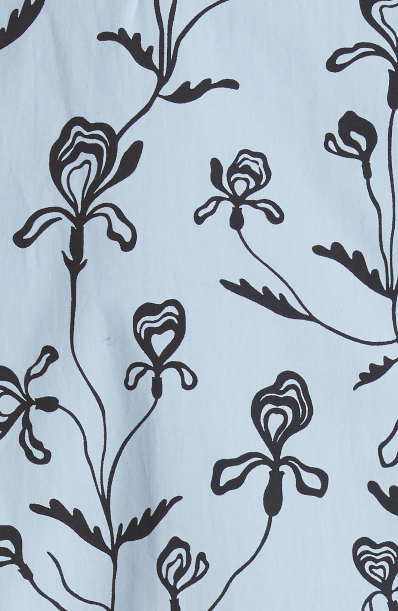 Alternate Image 5  - Sofie D'Hoore Floral Print Sleeveless Dress
