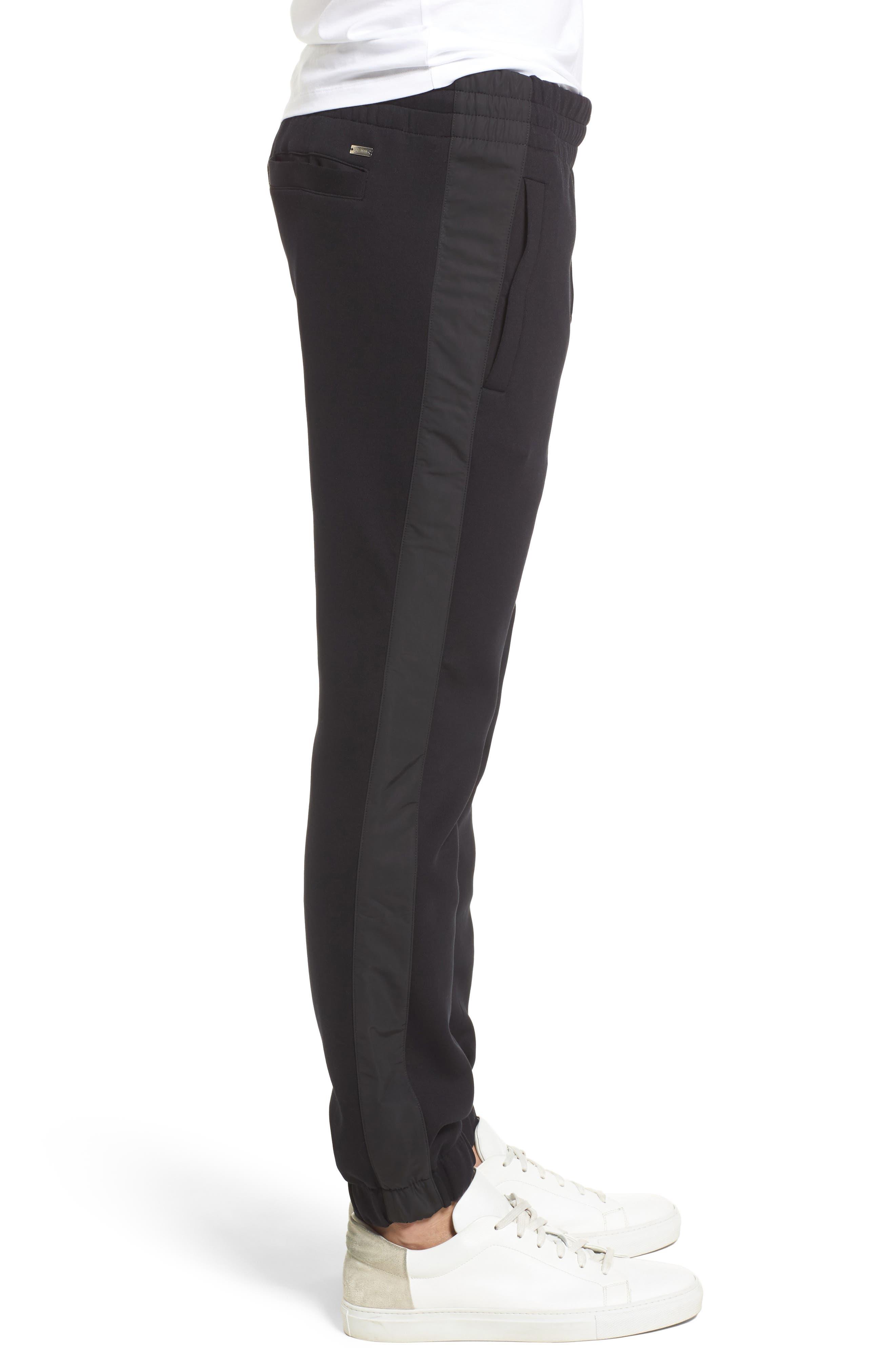 Lamont Mercedes Jogger Pants,                             Alternate thumbnail 3, color,                             Black