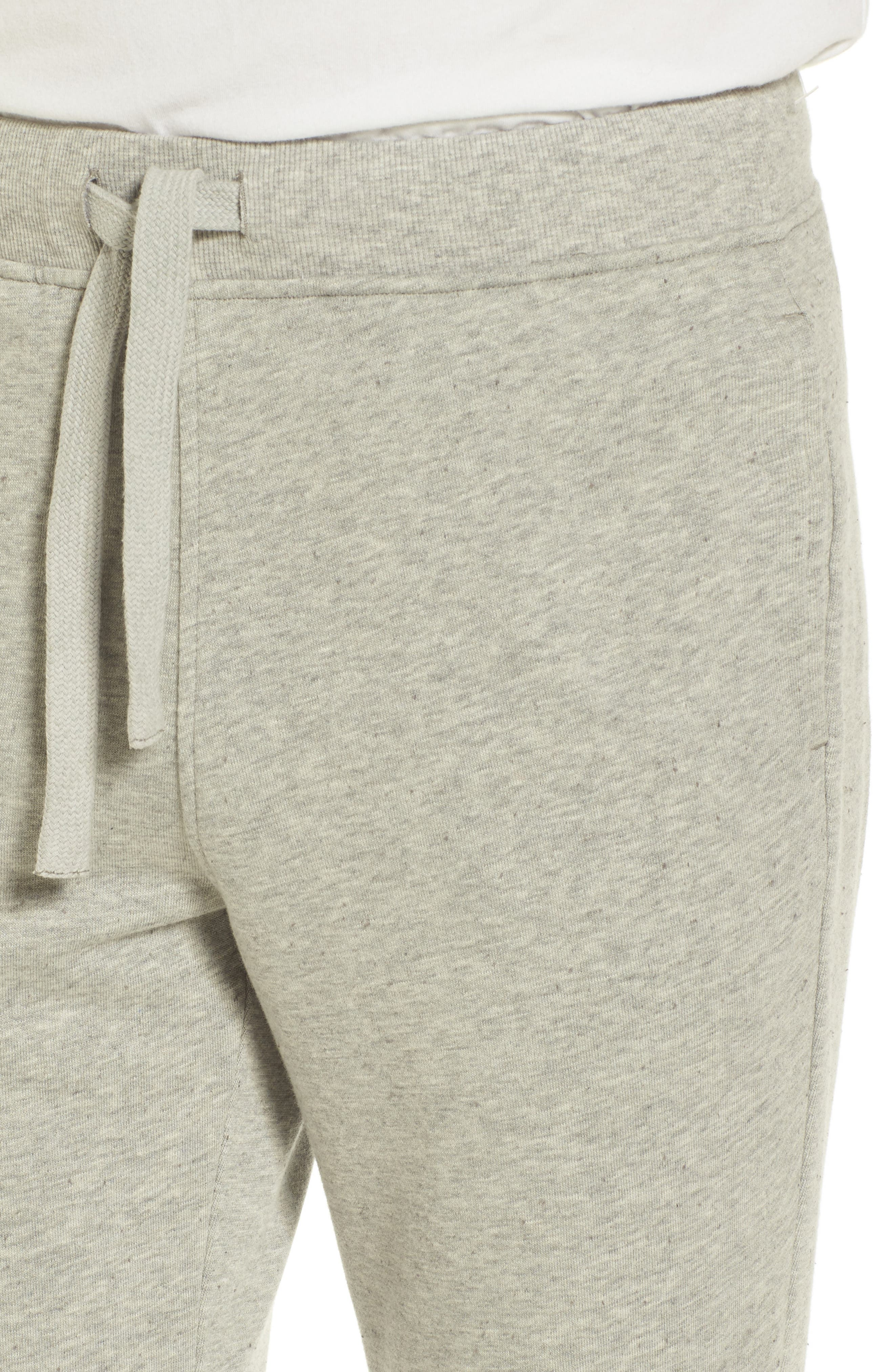 Wyatt Terry Cotton Blend Lounge Pants,                             Alternate thumbnail 4, color,                             Seal