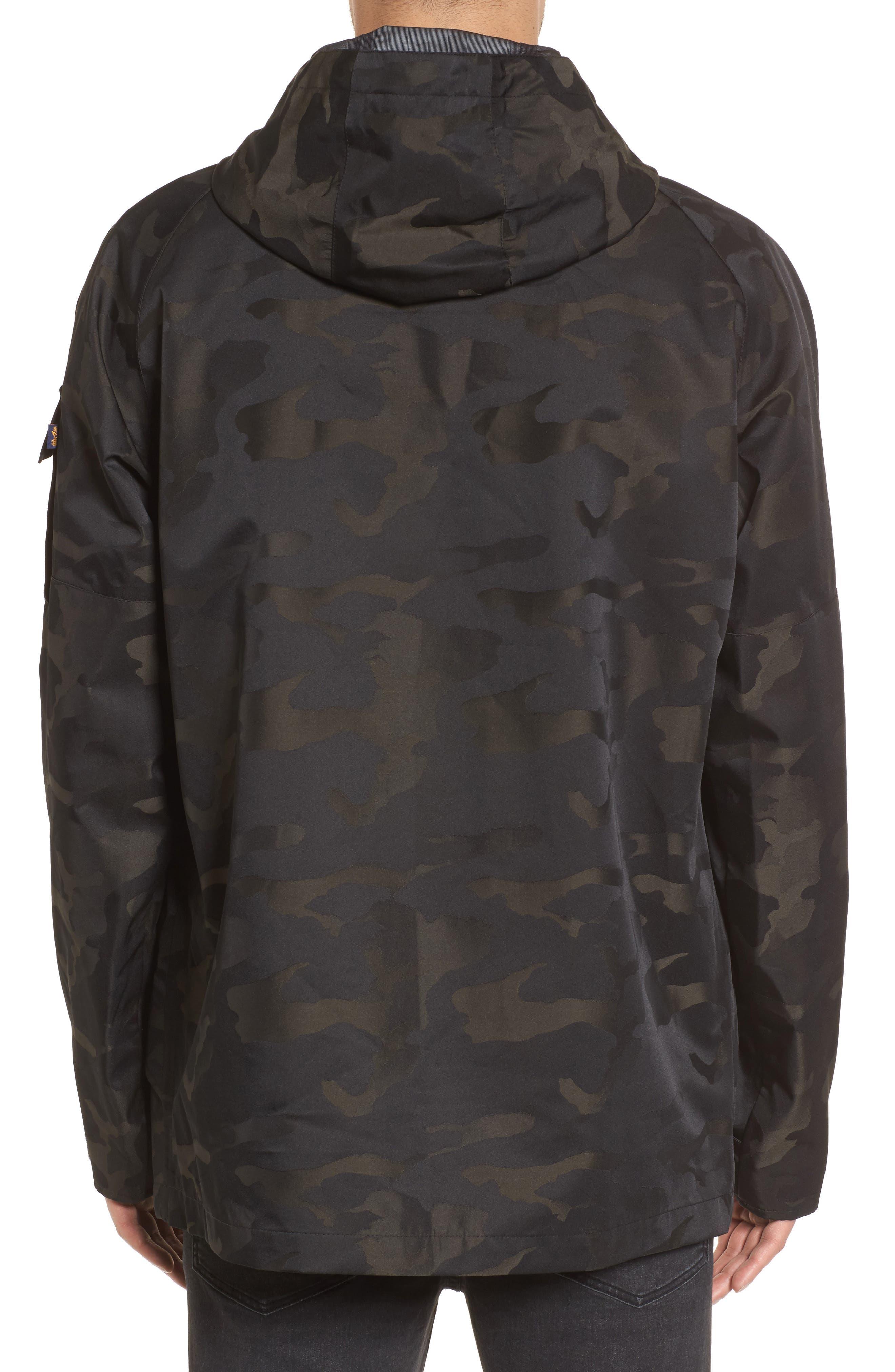 Torrent Camo Jacket,                             Alternate thumbnail 2, color,                             Black Camo