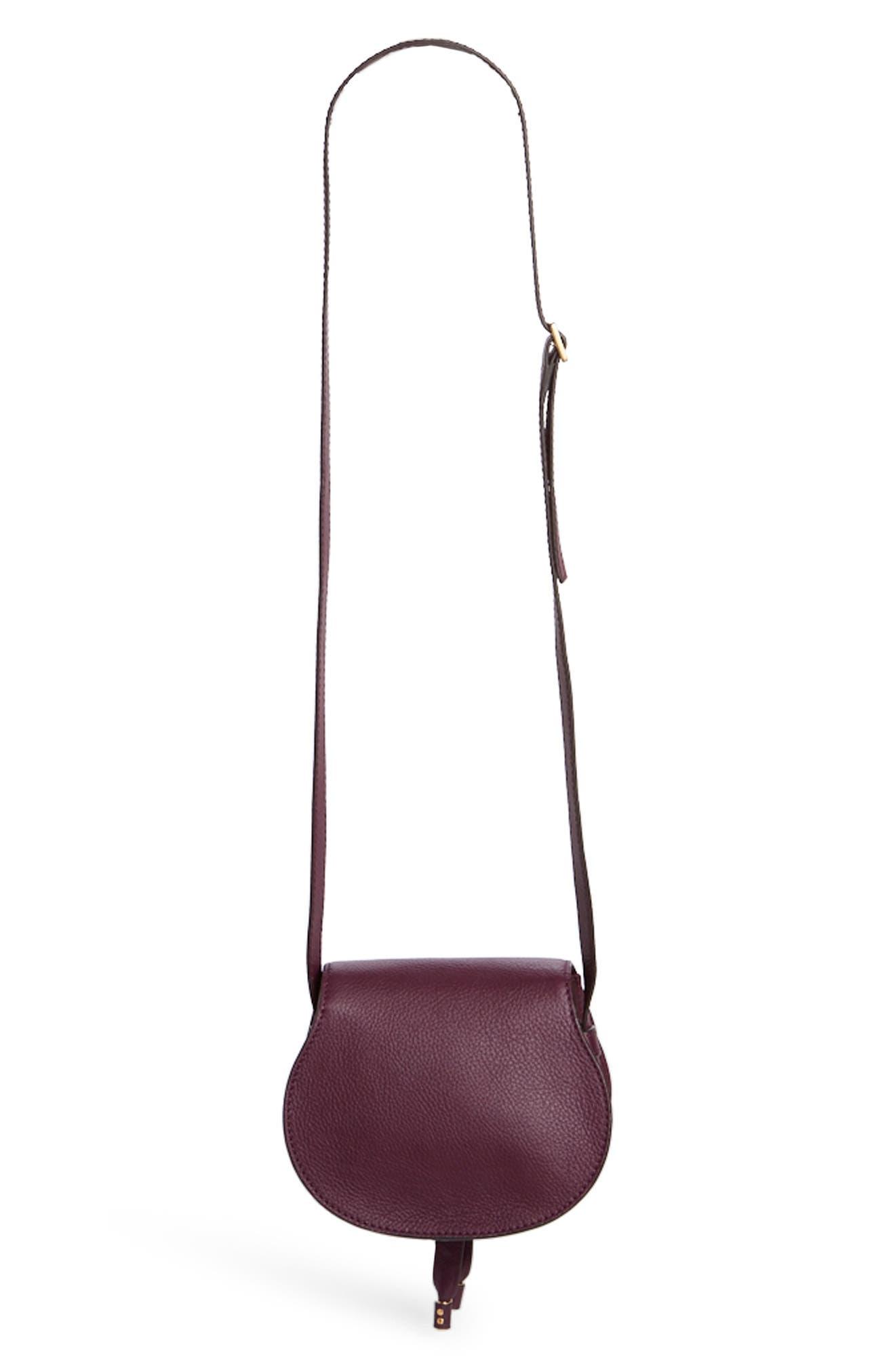 Alternate Image 2  - Chloé 'Mini Marcie' Leather Crossbody Bag