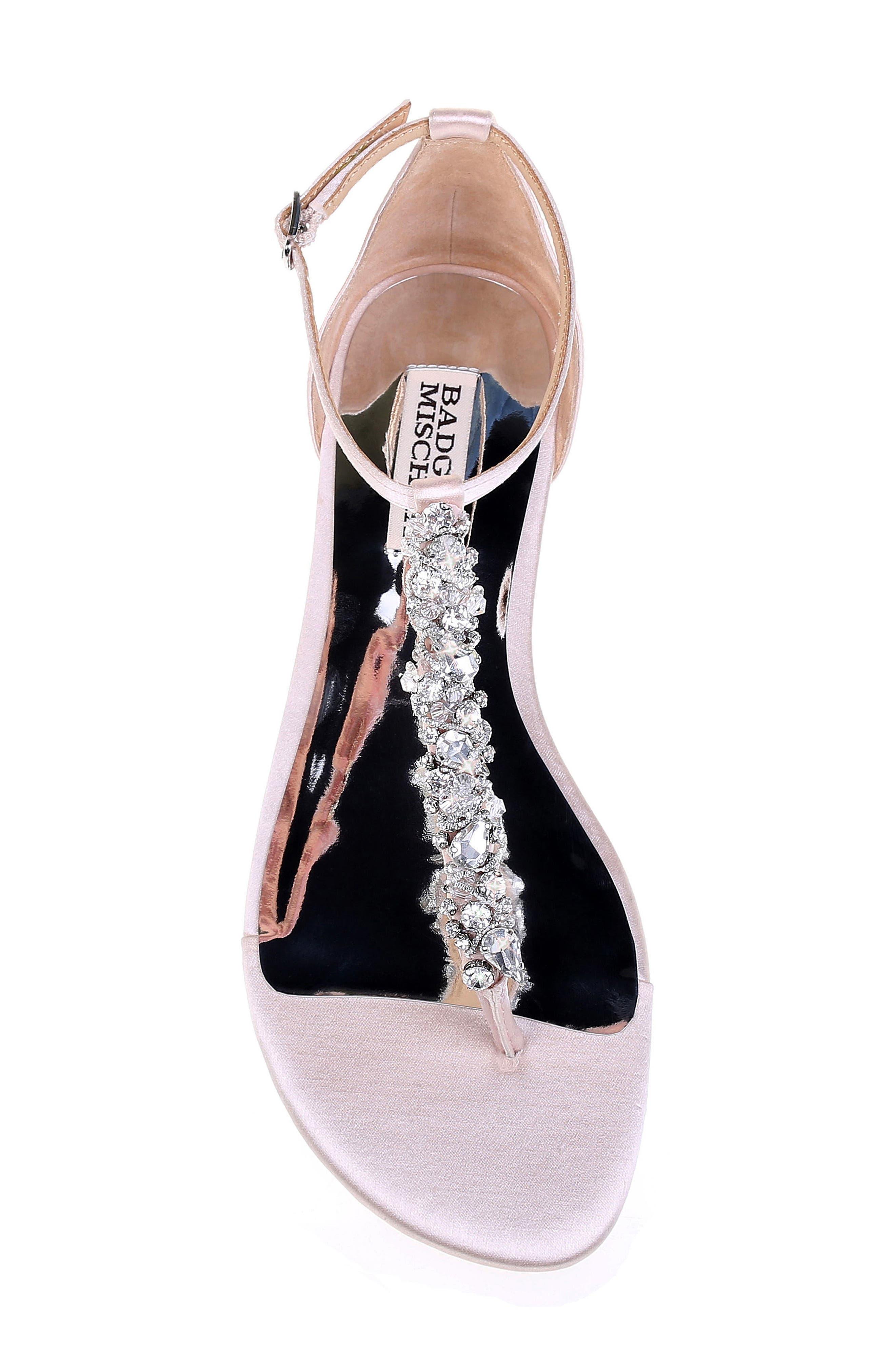 Alternate Image 5  - Badgley Mischka Holbrook T-Strap Sandal (Women)