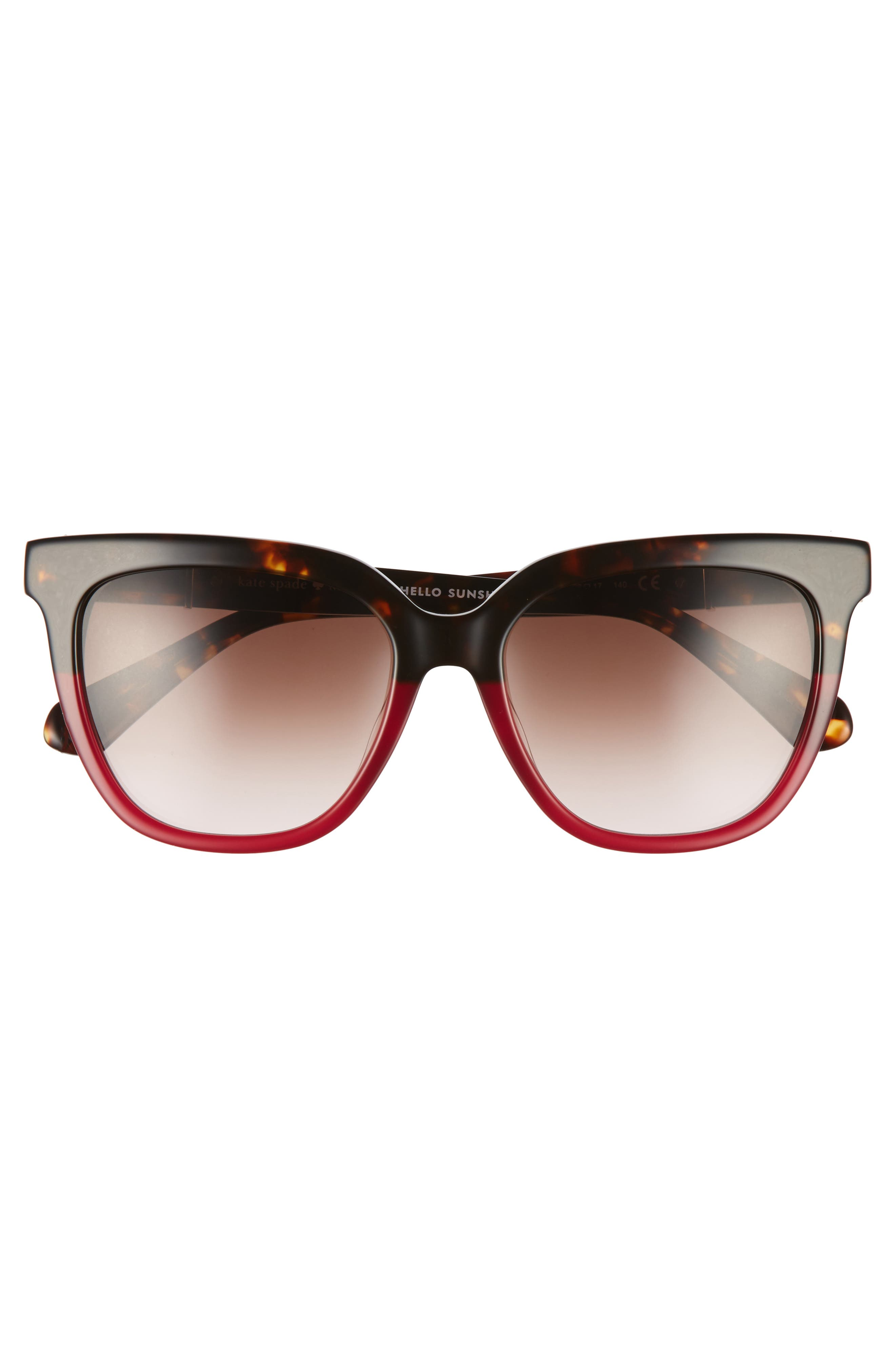 Alternate Image 2  - kate spade new york kahli 53mm cat eye sunglasses