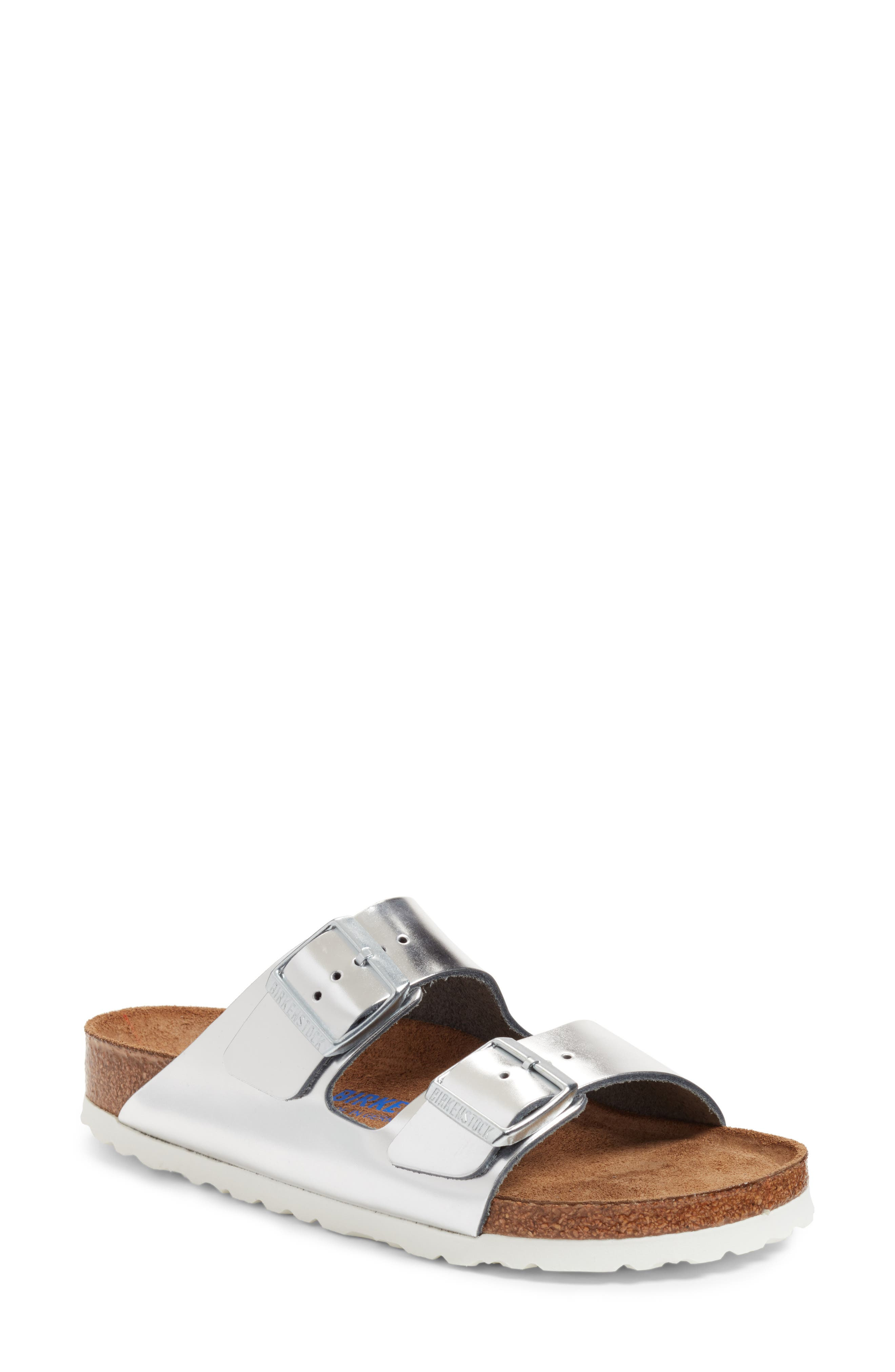 Sandals for Women On Sale, Silver, Leather, 2017, 3.5 4 4.5 5.5 7.5 Tod's