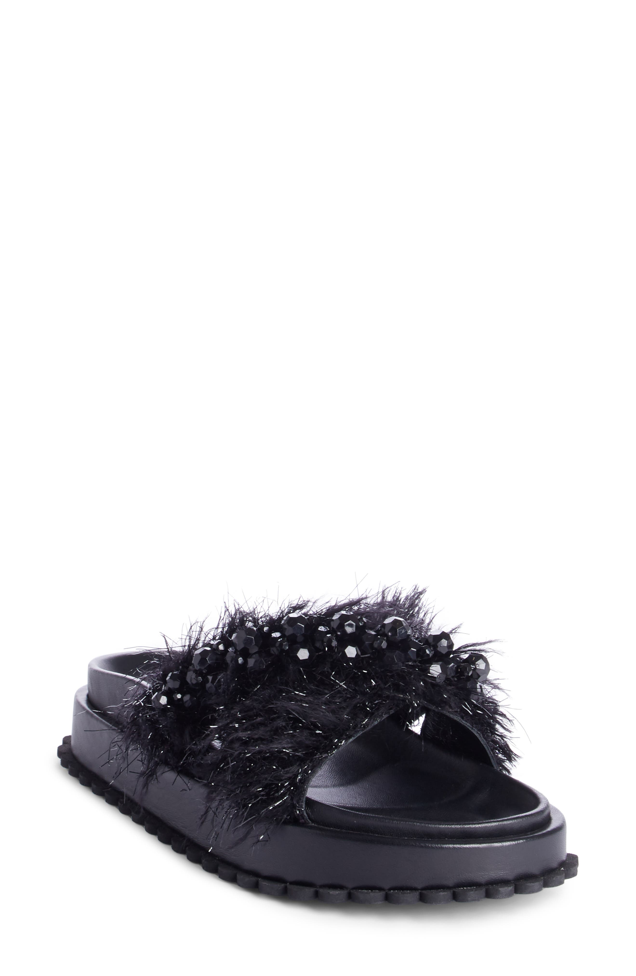 Simone Rocha Embellished Slide Sandal (Women)