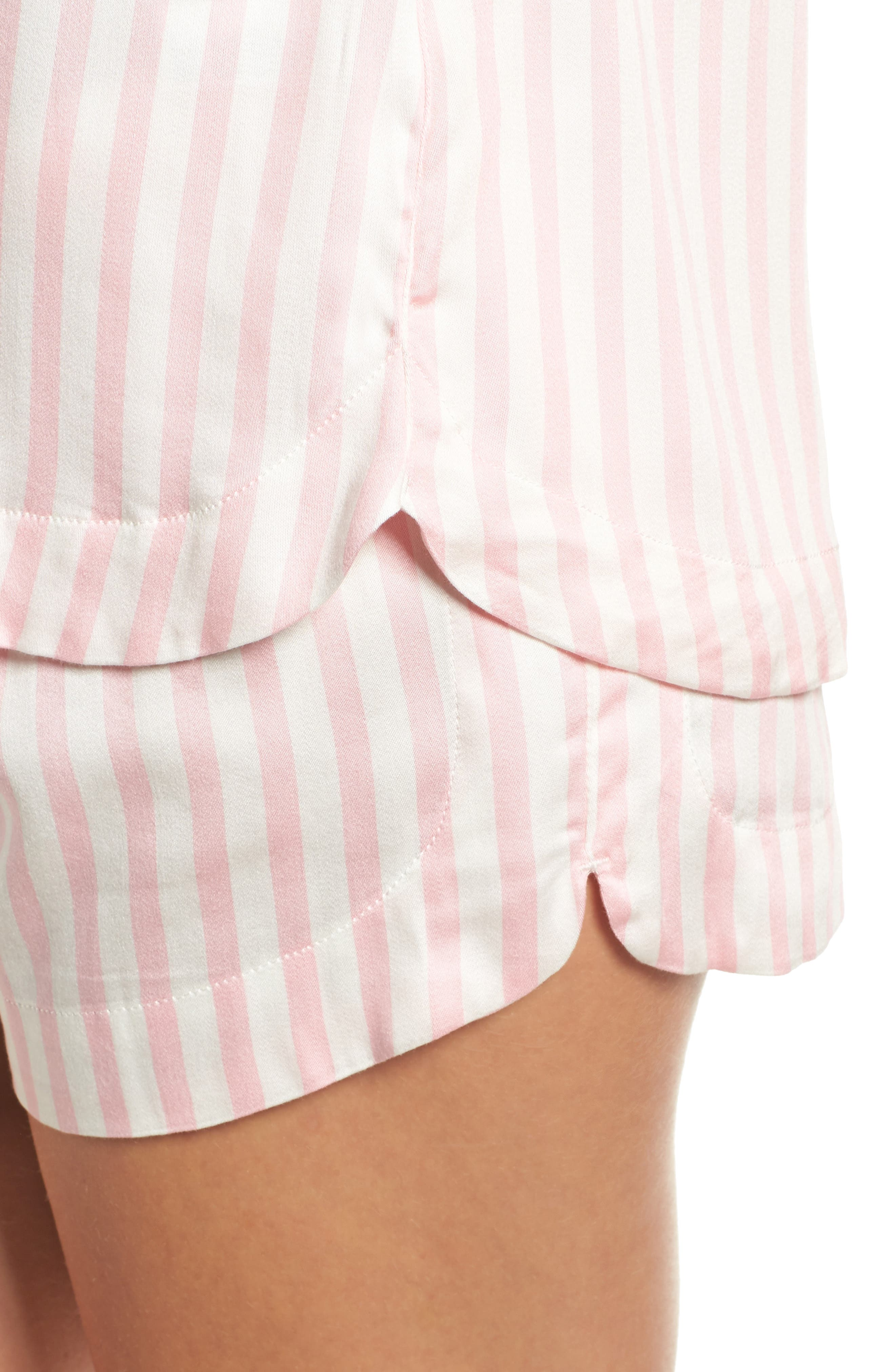 Short Pajamas,                             Alternate thumbnail 5, color,                             Pink