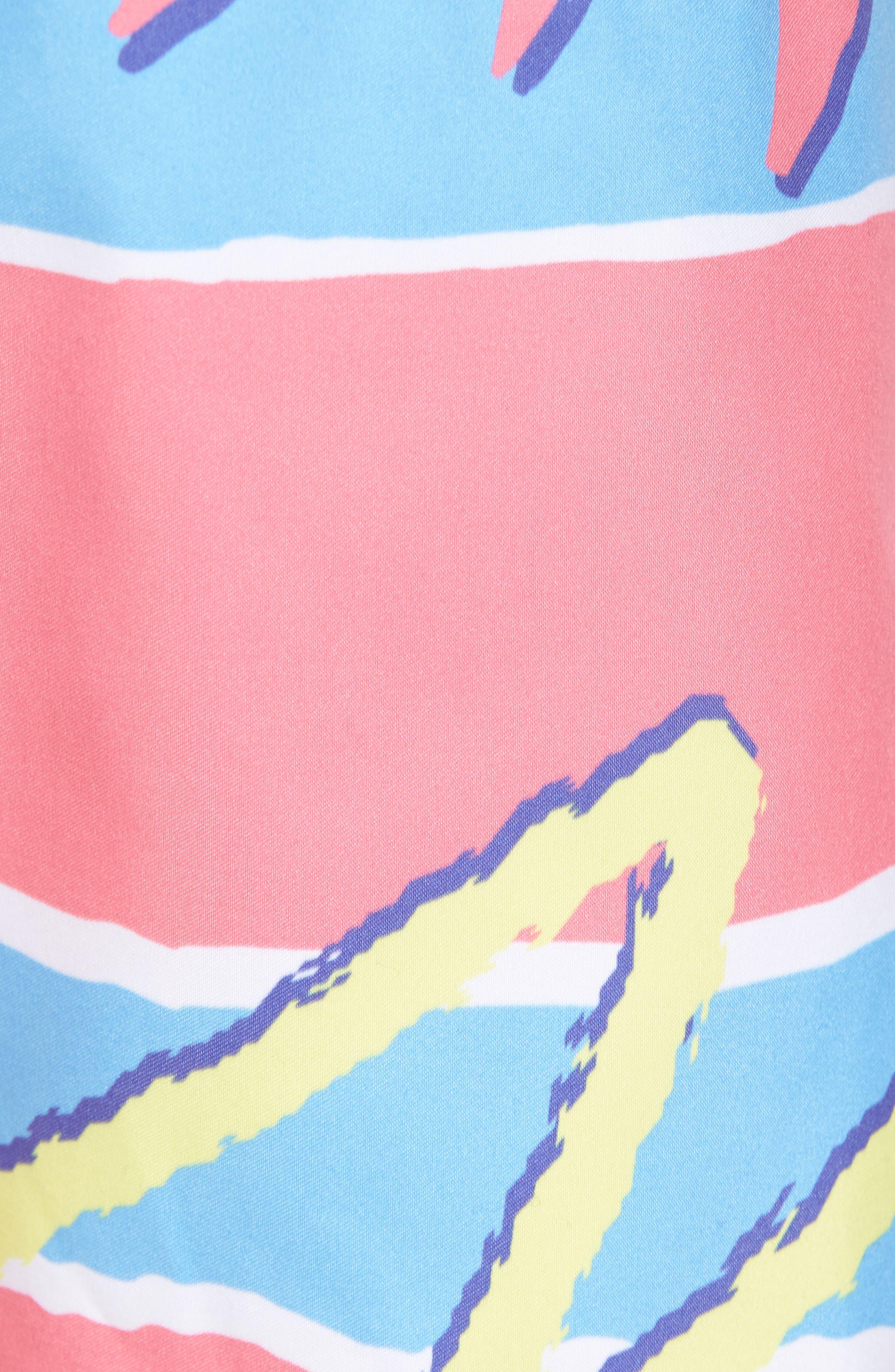 Fresh Prince Board Shorts,                             Alternate thumbnail 5, color,                             Multi
