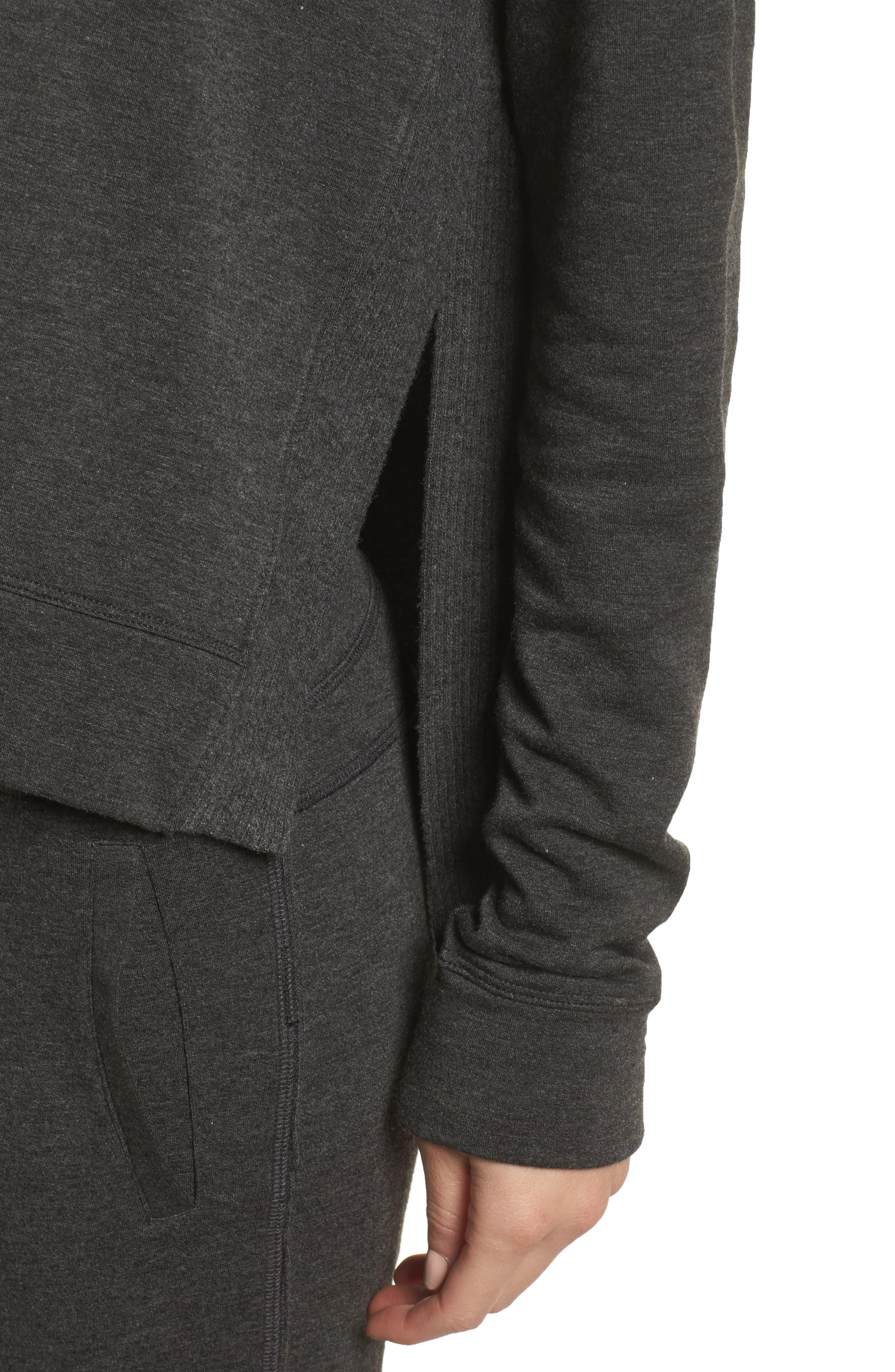 Crane Sweatshirt,                             Alternate thumbnail 4, color,                             Charcoal
