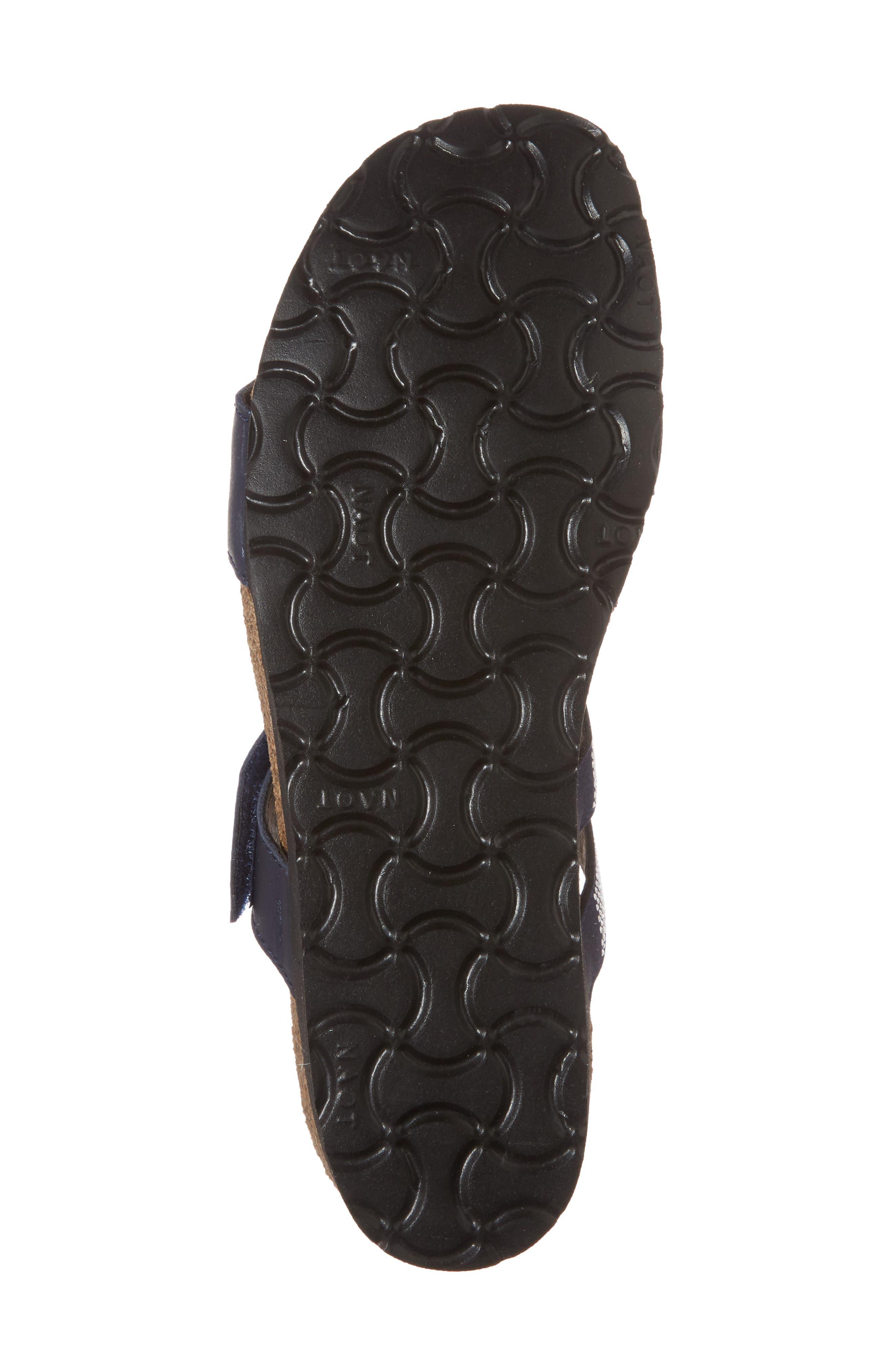 Ainsley Studded Slide Sandal,                             Alternate thumbnail 6, color,                             Polar Nubuck