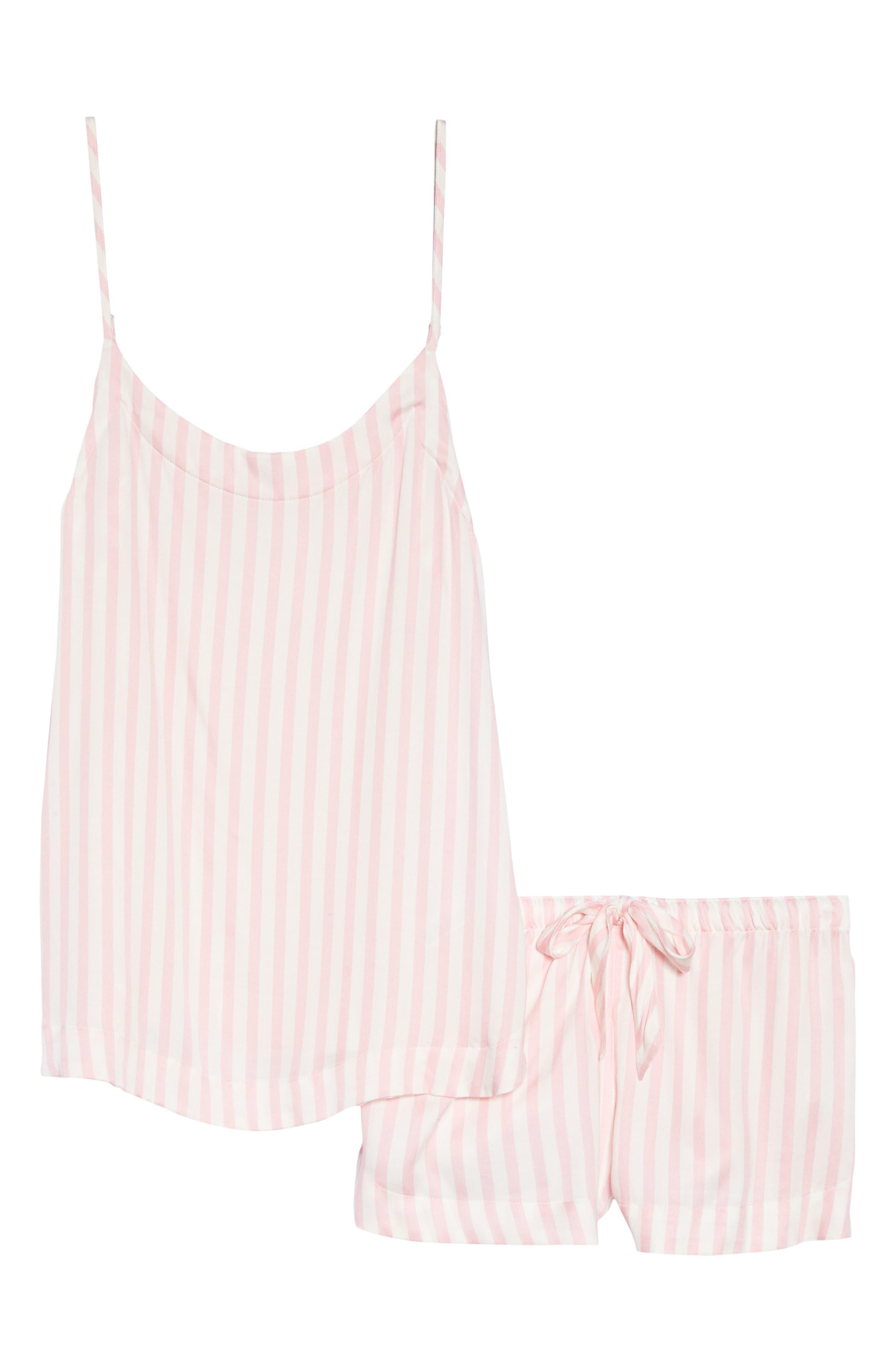 Short Pajamas,                             Alternate thumbnail 4, color,                             Pink