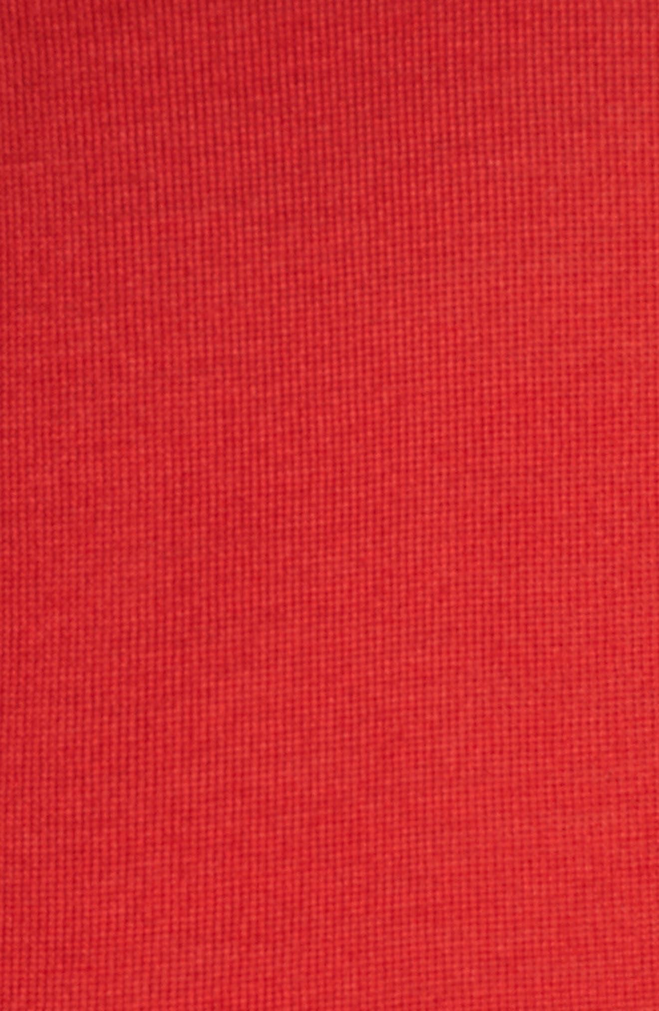 Fuyuka Wool Sweater,                             Alternate thumbnail 5, color,                             Crimson Red