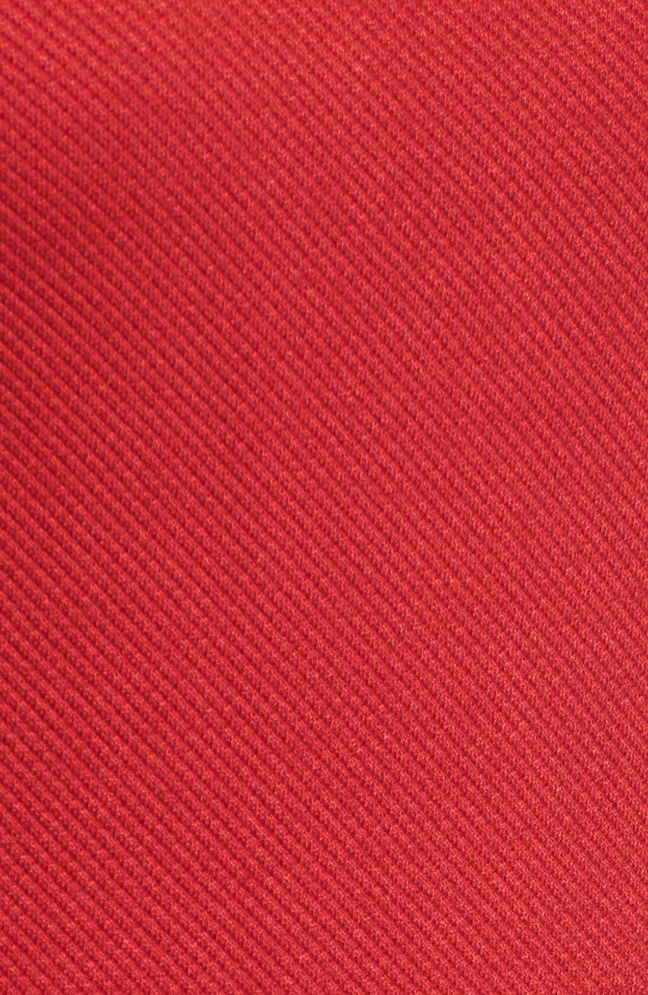 Hibela Tonal Stripe Dress,                             Alternate thumbnail 5, color,                             Crimson Red