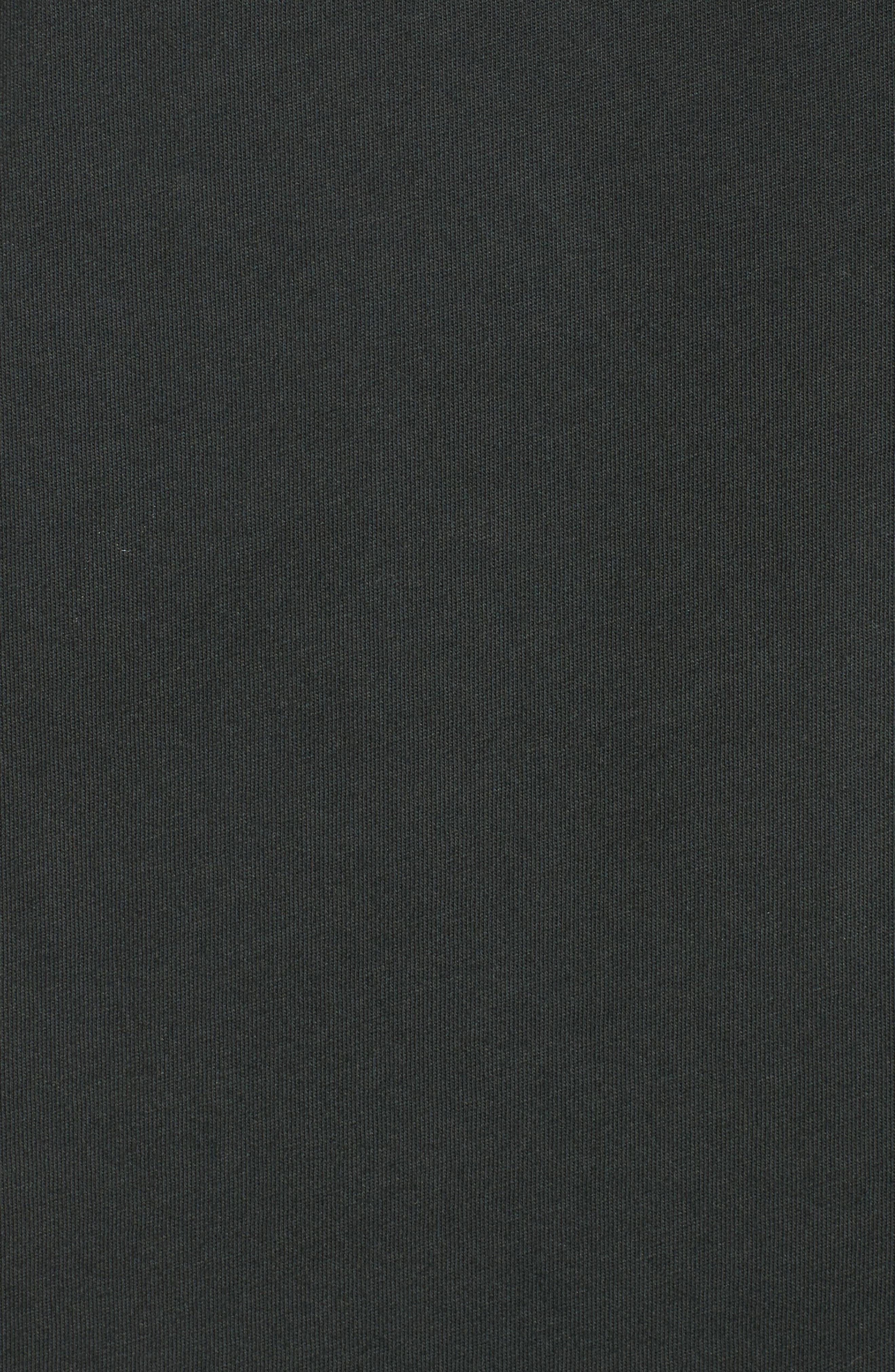 White Riot Graphic T-Shirt,                             Alternate thumbnail 5, color,                             Dusty Black