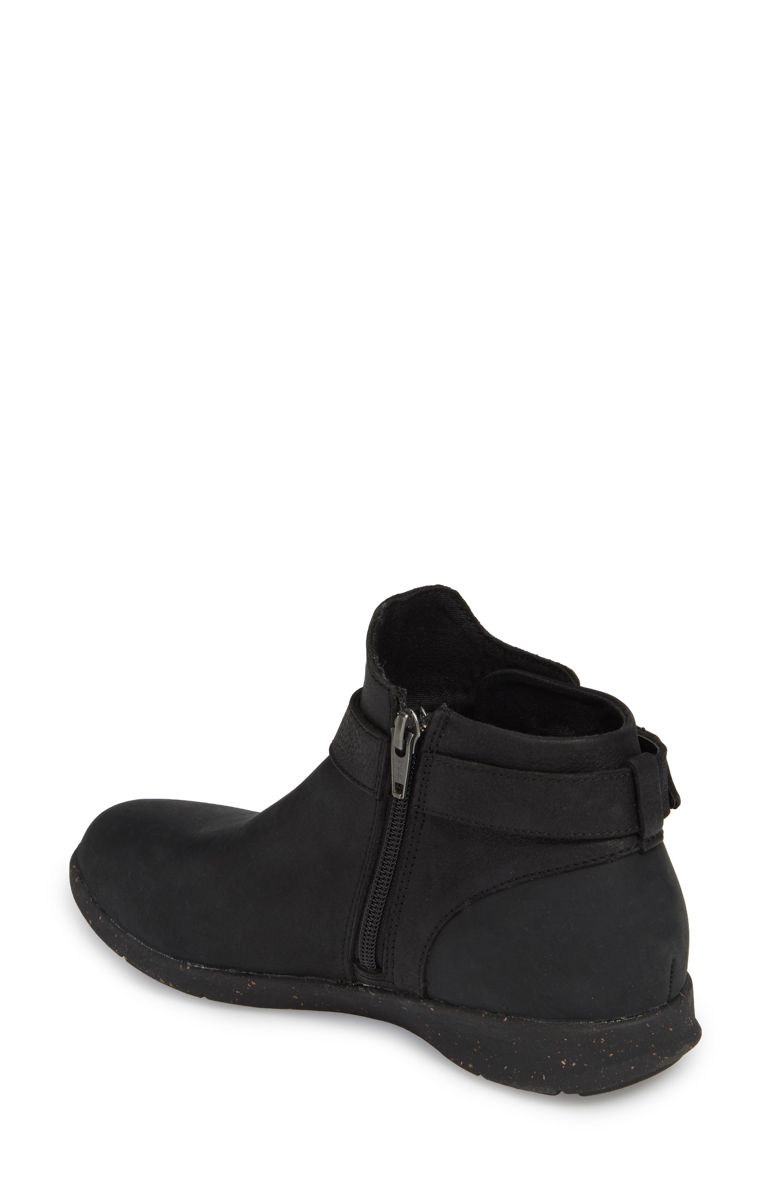 Ash Bootie,                             Alternate thumbnail 2, color,                             Black Leather