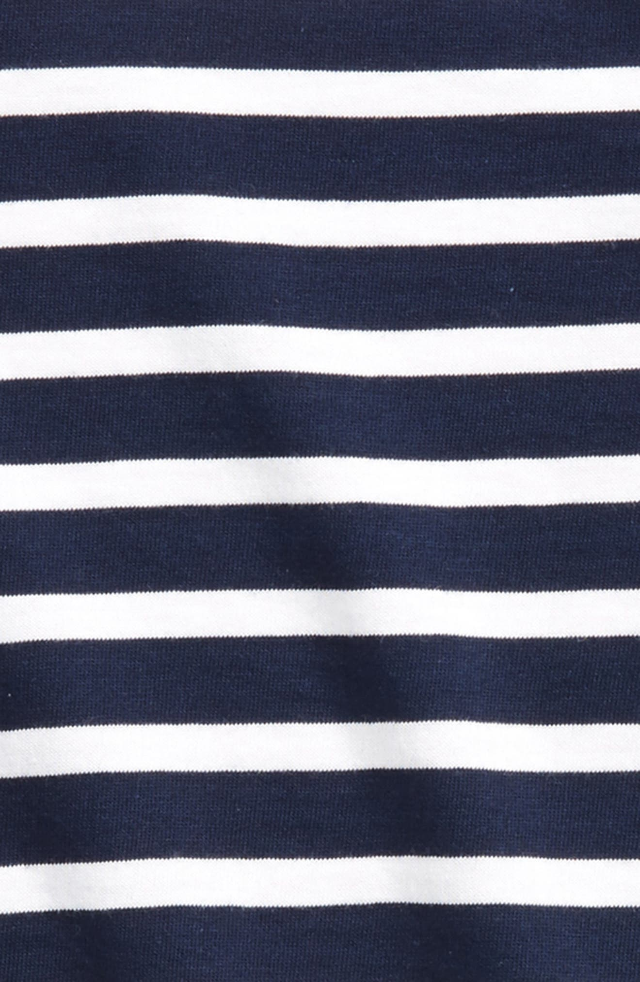 Alternate Image 2  - Saint James Minquiers Striped Sailor Shirt (Toddlers, Little Kids & Big Kids)