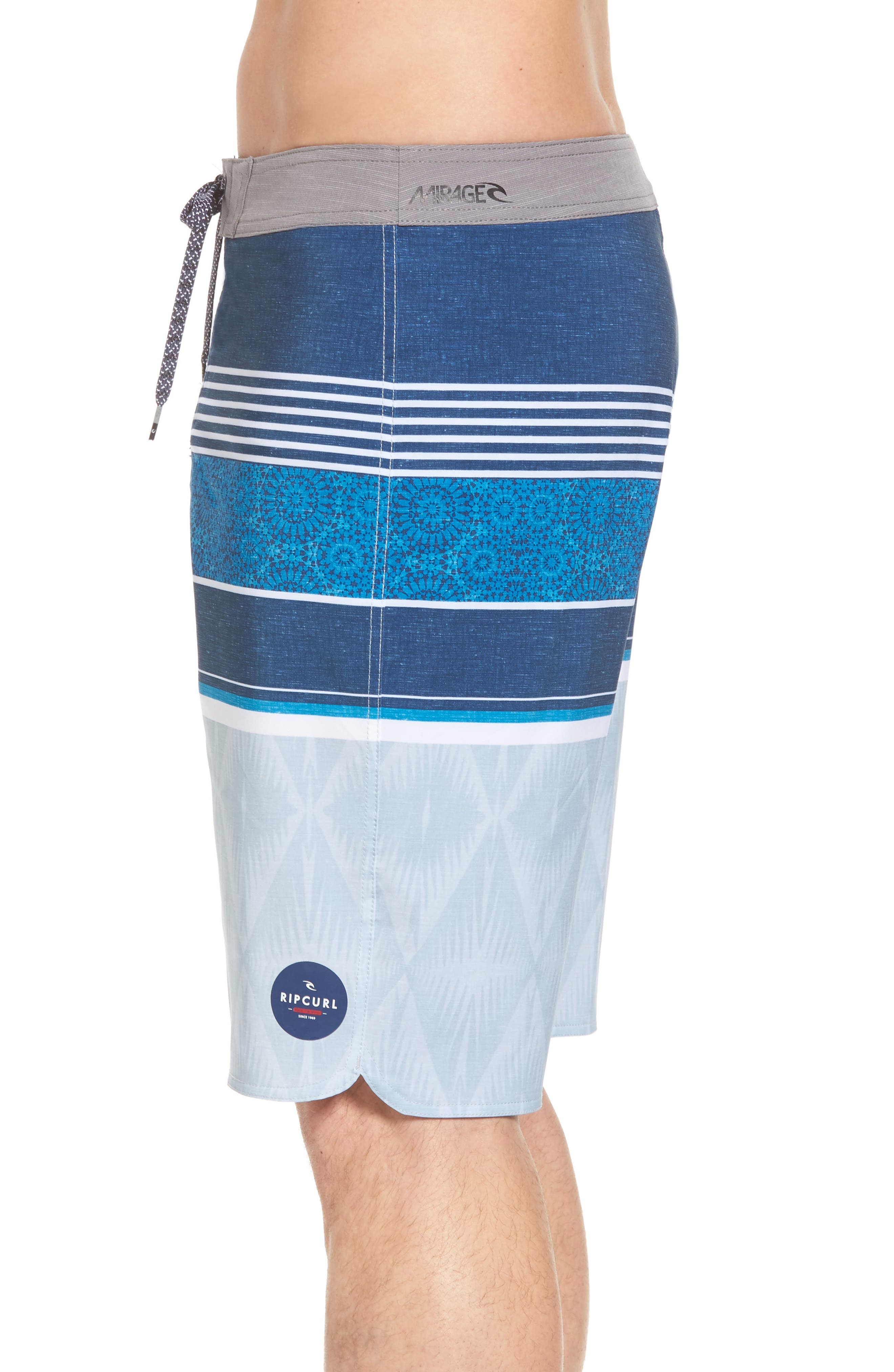 Mirage Sessions Board Shorts,                             Alternate thumbnail 3, color,                             Navy