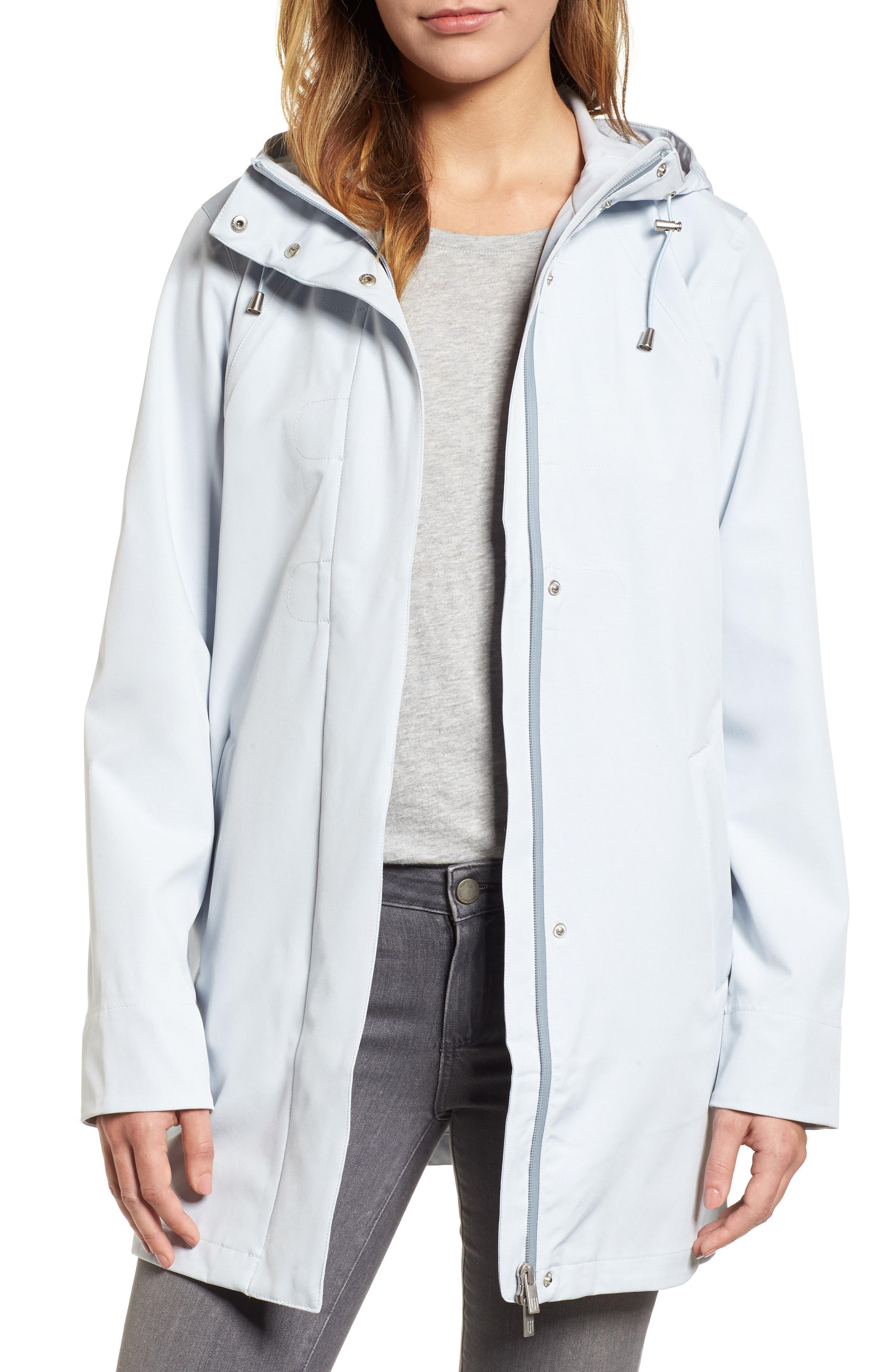 Main Image - Ilse Jacobsen Soft Shell Raincoat