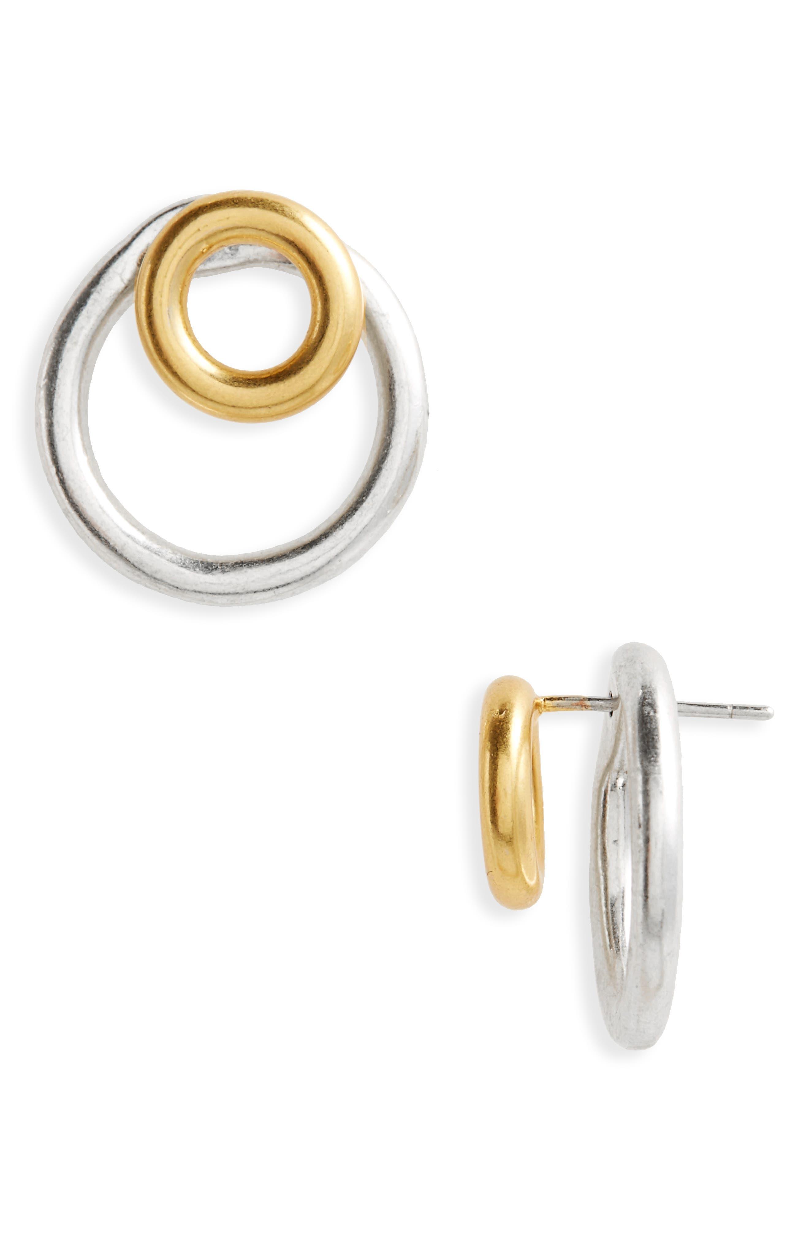Alternate Image 1 Selected - Madewell Front/Back Earrings