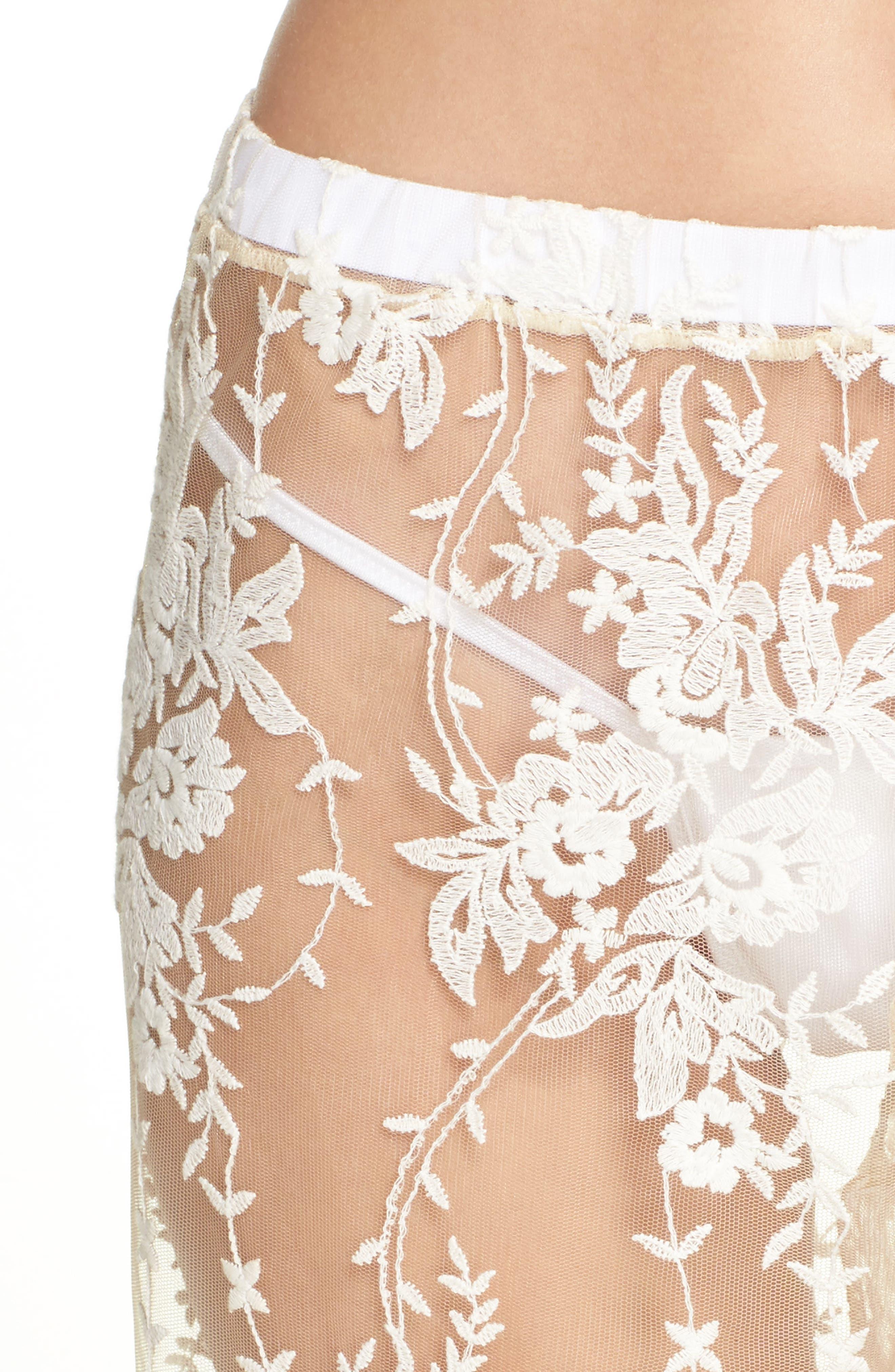 Rosie Pants,                             Alternate thumbnail 5, color,                             Moon Ivory