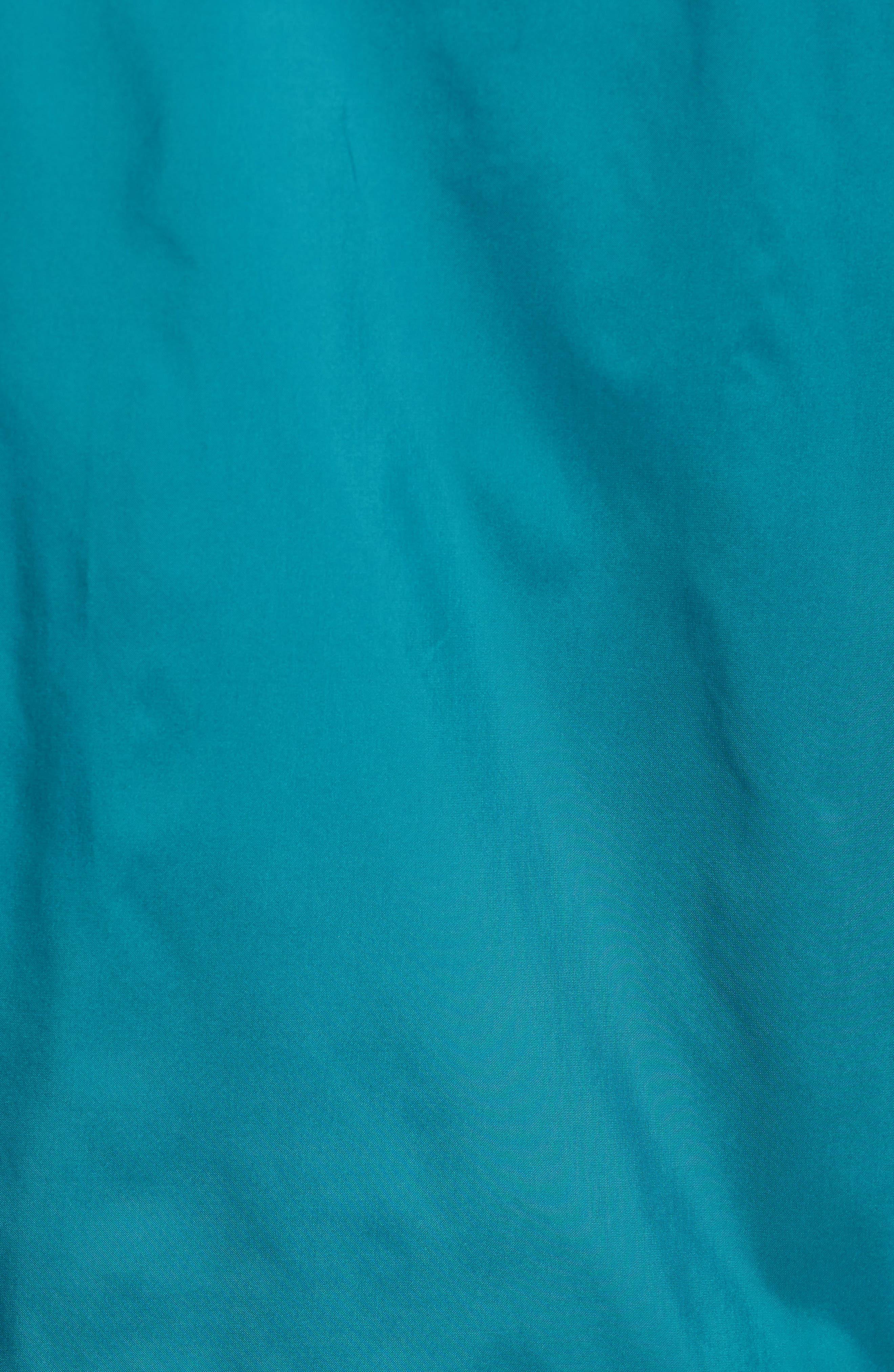 Eyes Coaches Jacket,                             Alternate thumbnail 5, color,                             Teal