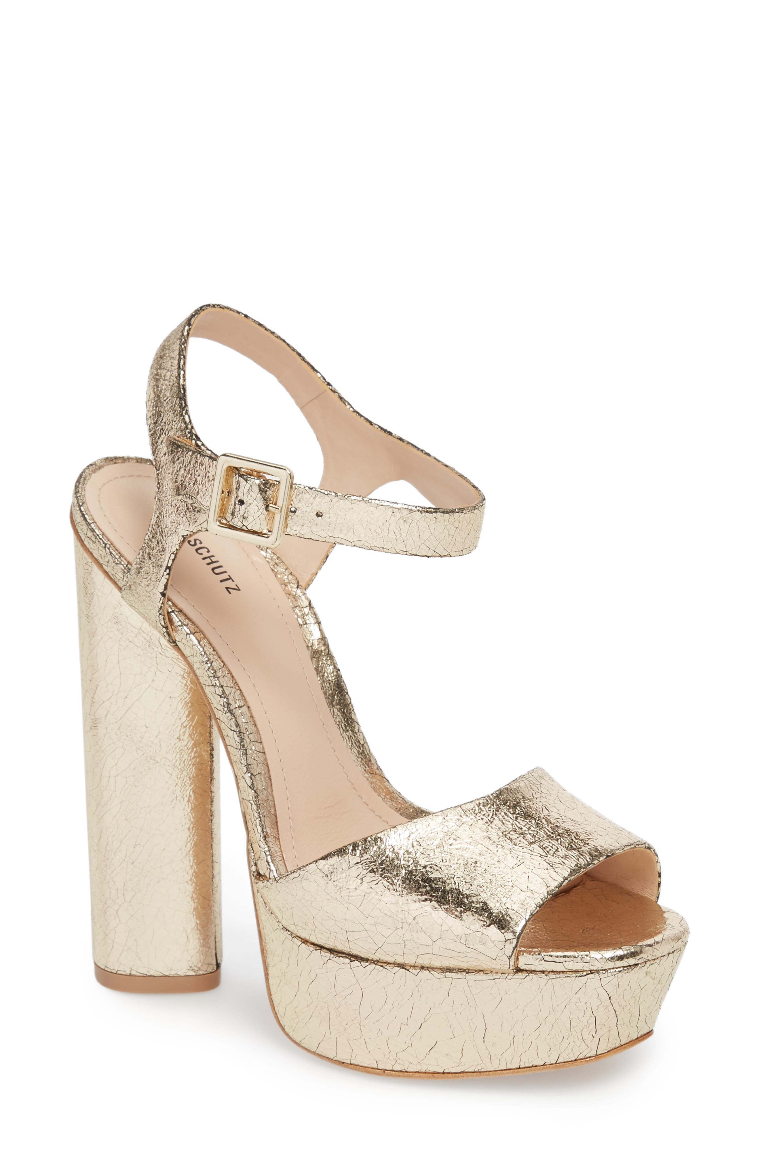 Alternate Image 1 Selected - Schutz Jane Platform Sandal (Women)