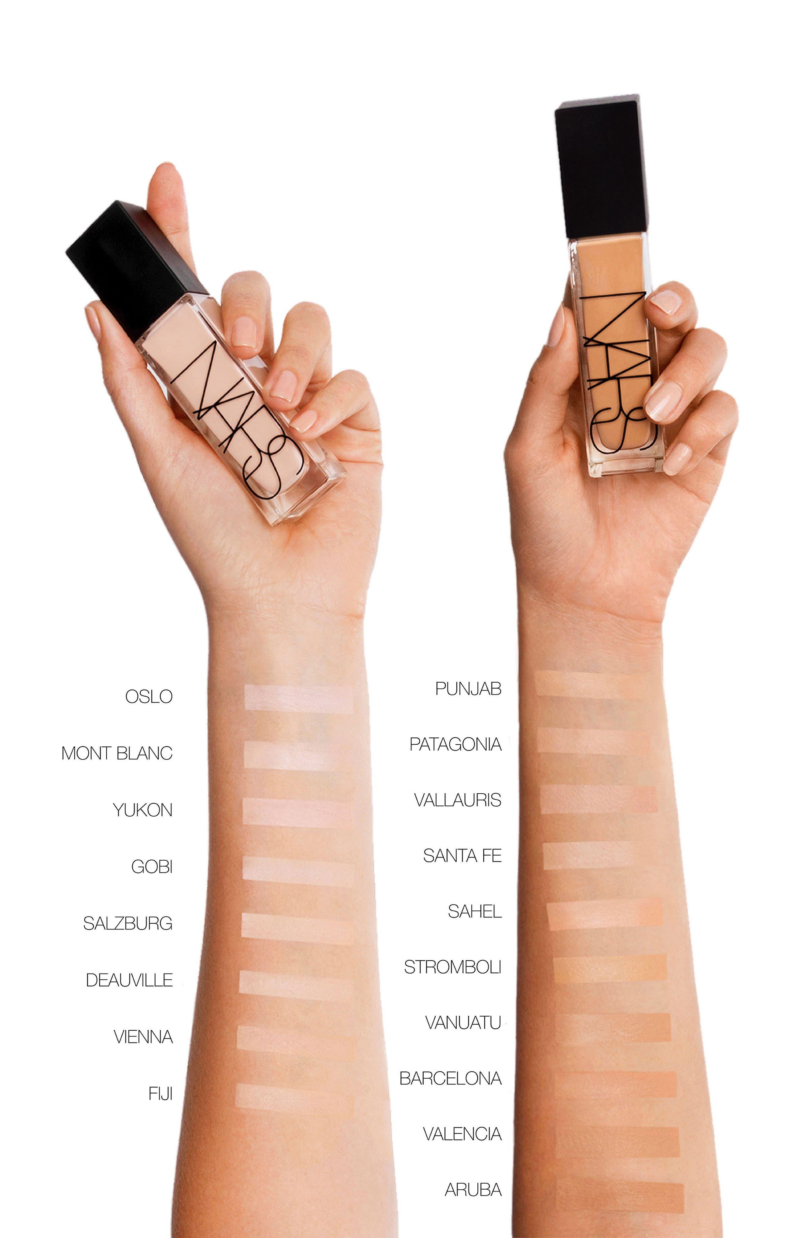 Natural Radiant Prom Makeup Tutorial: NARS NATURAL RADIANT LONGWEAR FOUNDATION PATAGONIA