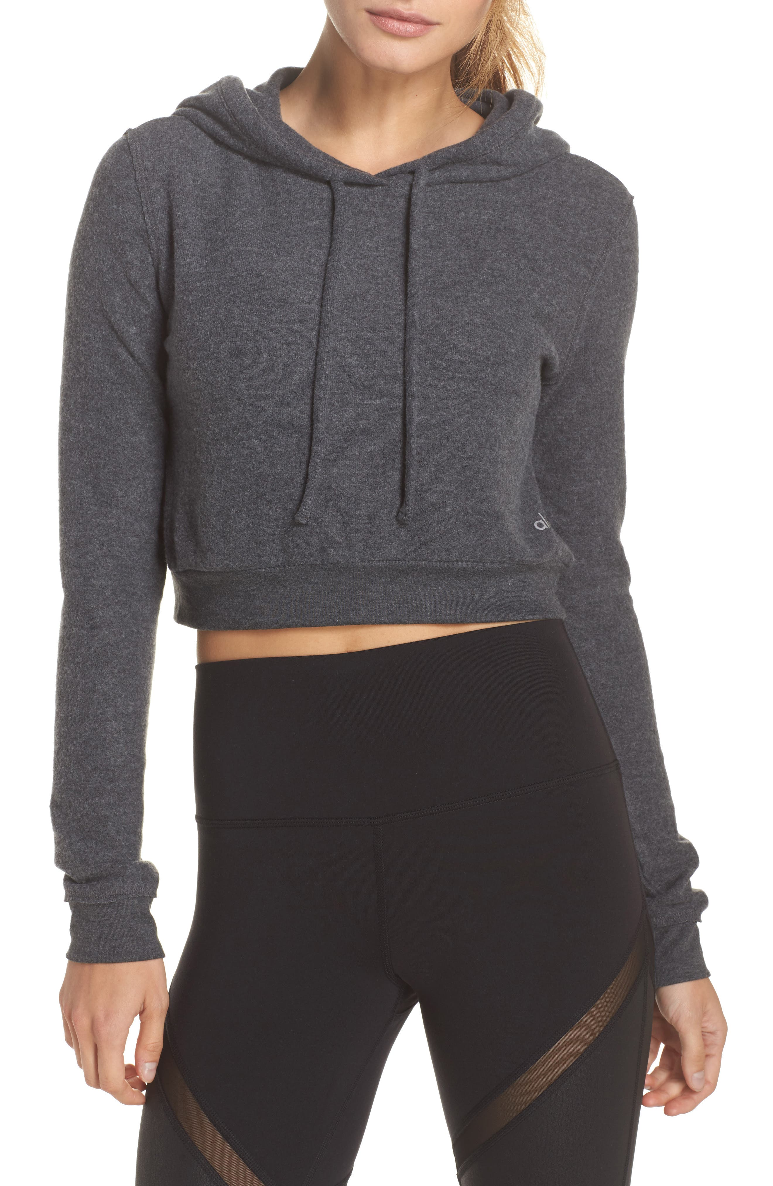 Getaway Hoodie,                         Main,                         color, Anthracite Heather