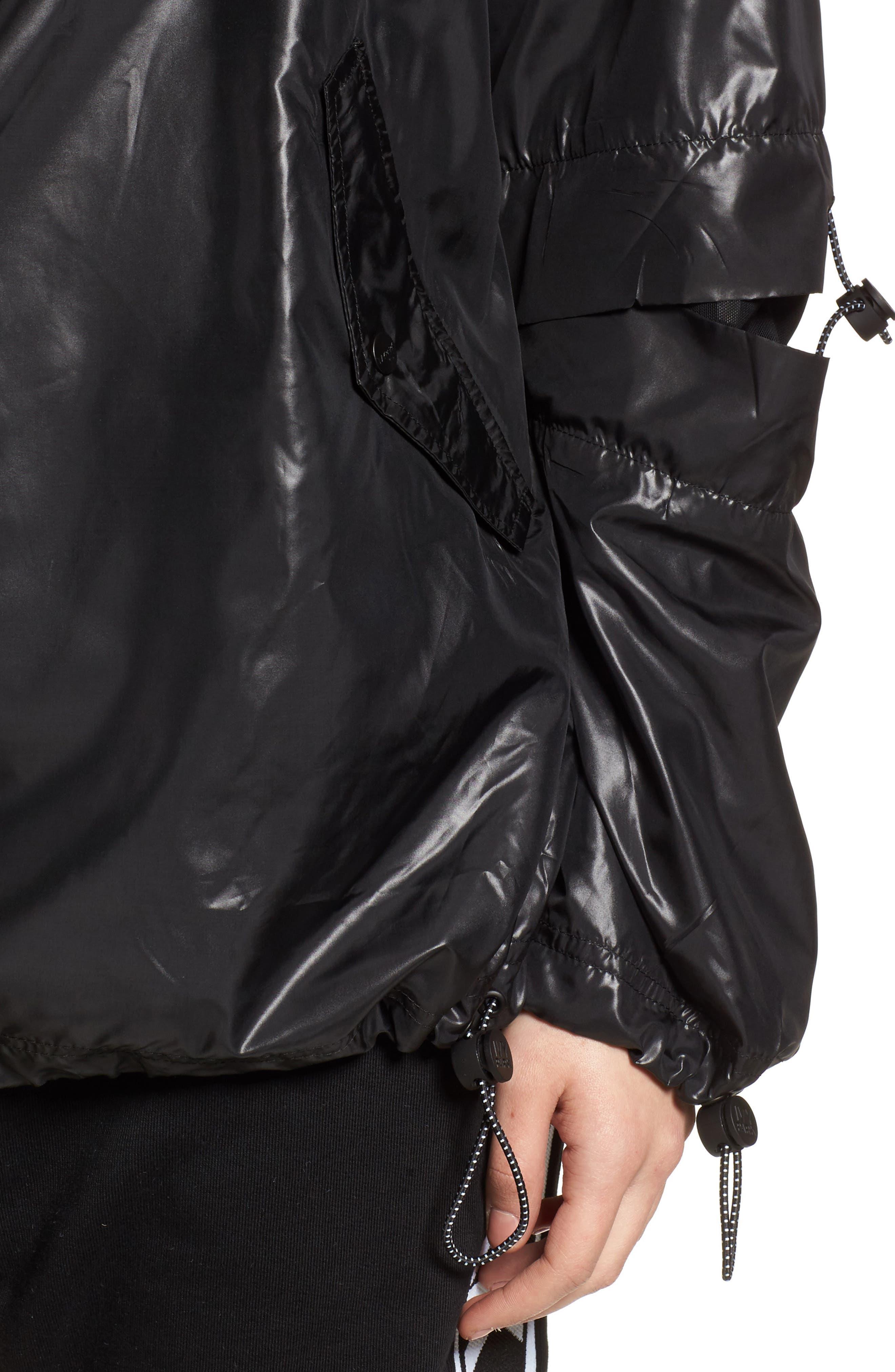 Alternate Image 6  - IVY PARK® Hi Shine Lace-Up Jacket
