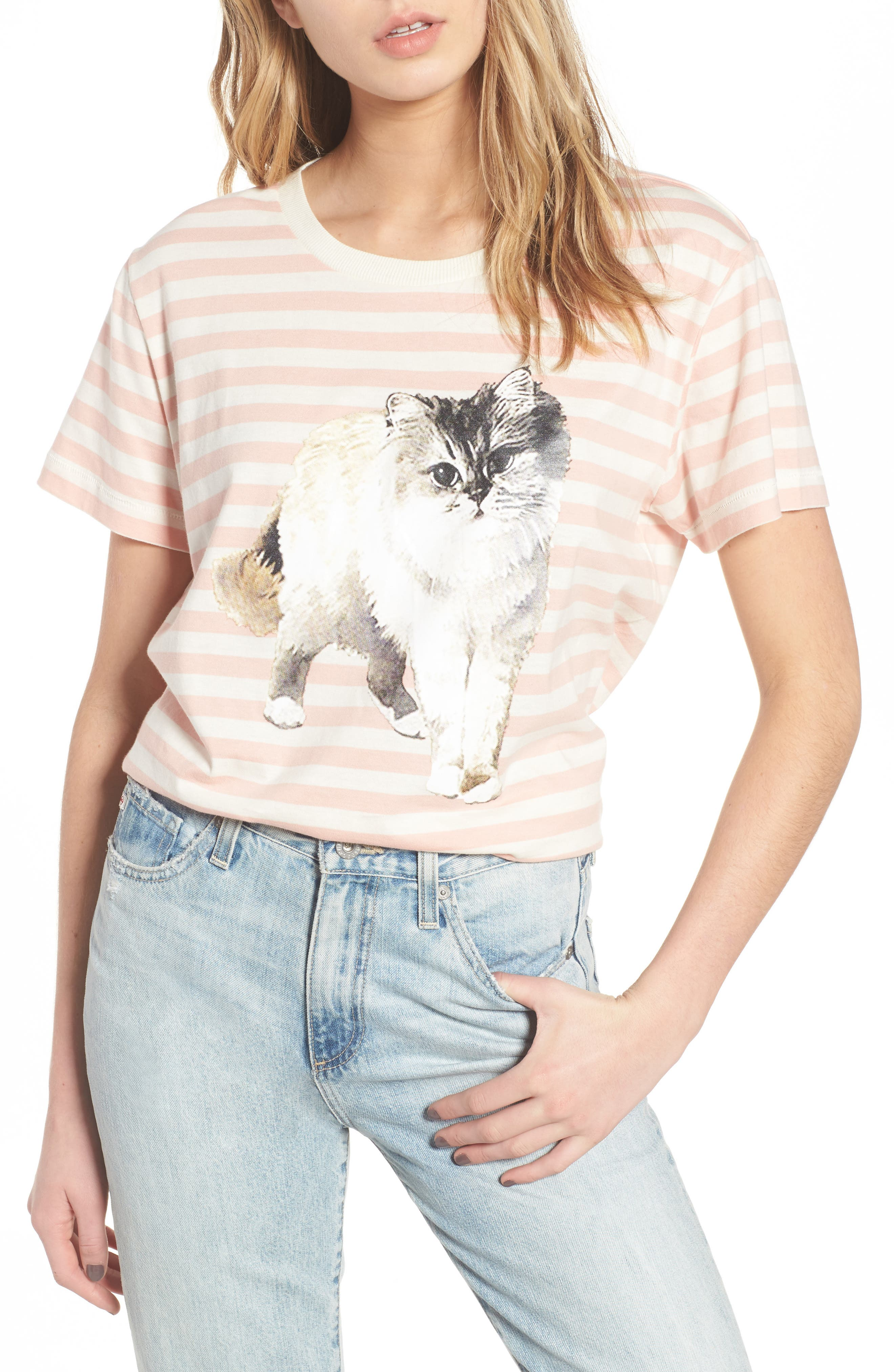 Timtomt Tee,                             Main thumbnail 1, color,                             Pink