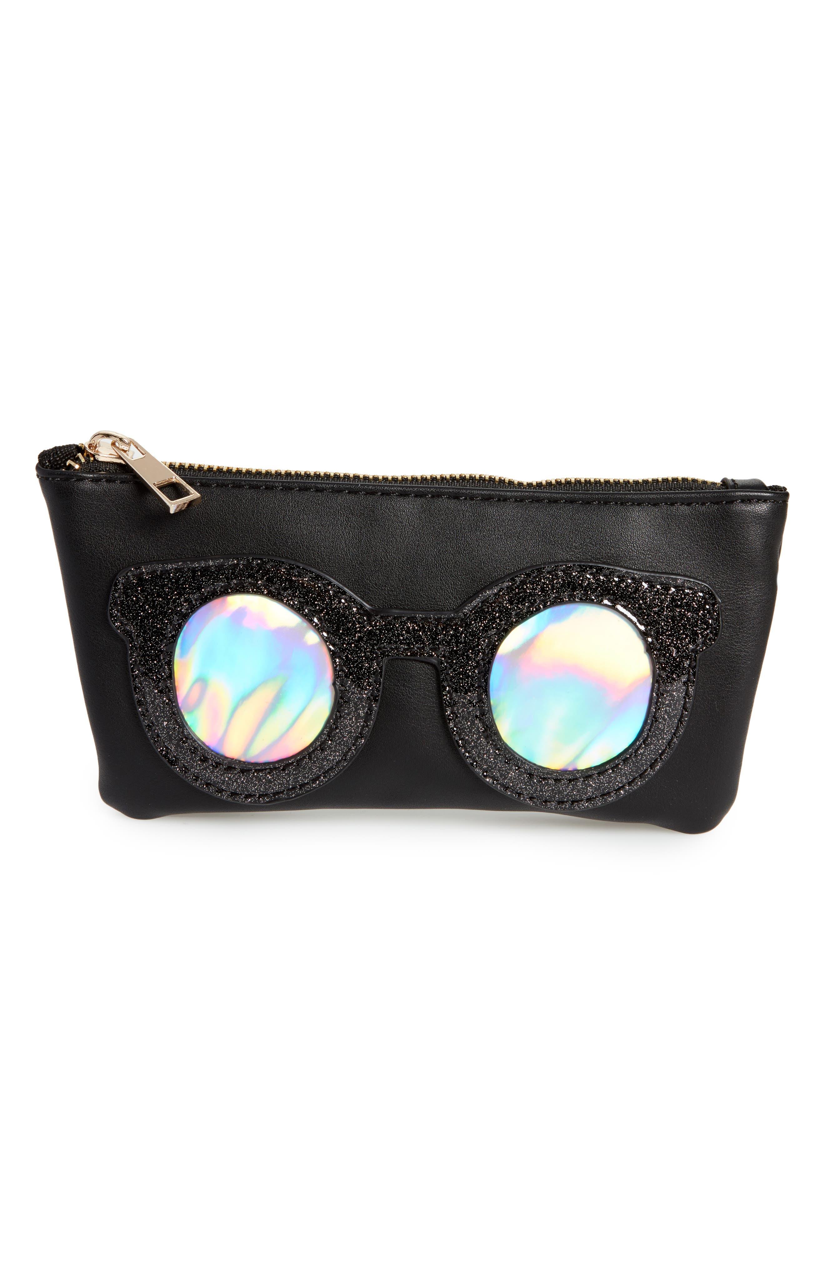 Alternate Image 1 Selected - OMG Metallic Sunnies Sunglasses Case