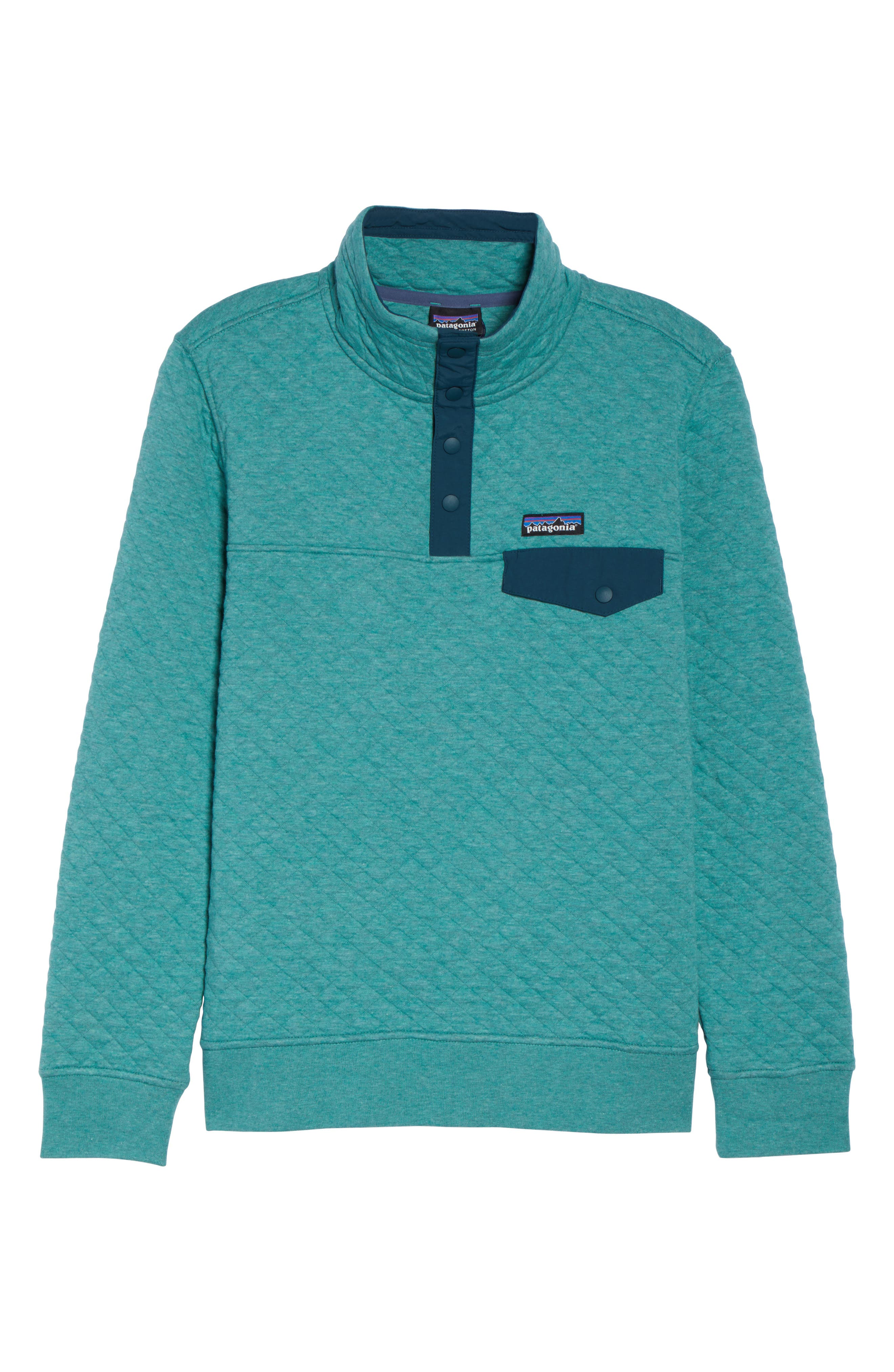 Alternate Image 7  - Patagonia Snap-T® Quilted Pullover