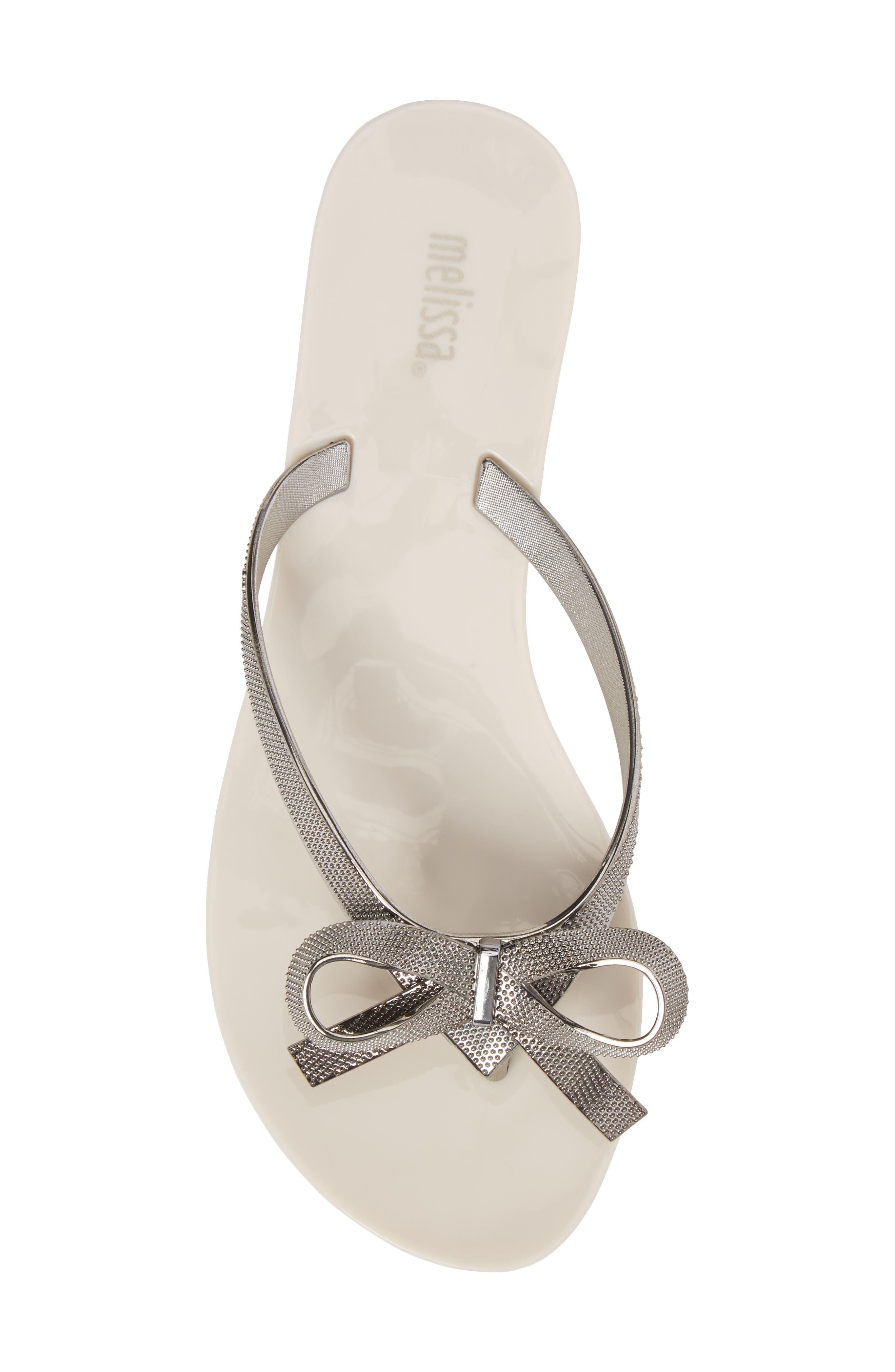 Alternate Image 5  - Melissa Harmonic Bow Chrome II Sandal (Women)