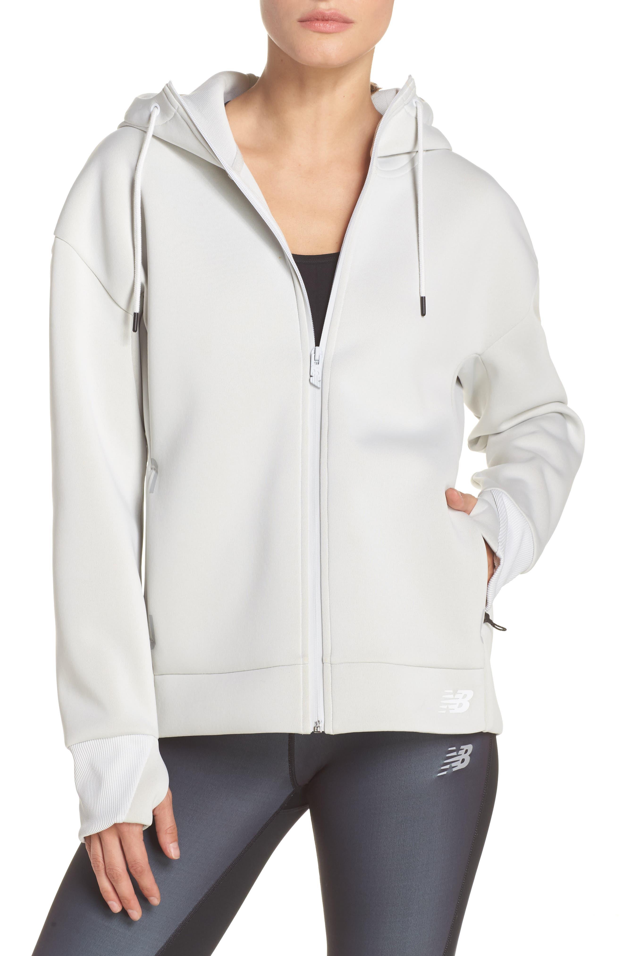 247 Sport Zip Hoodie,                         Main,                         color, Arctic Fox