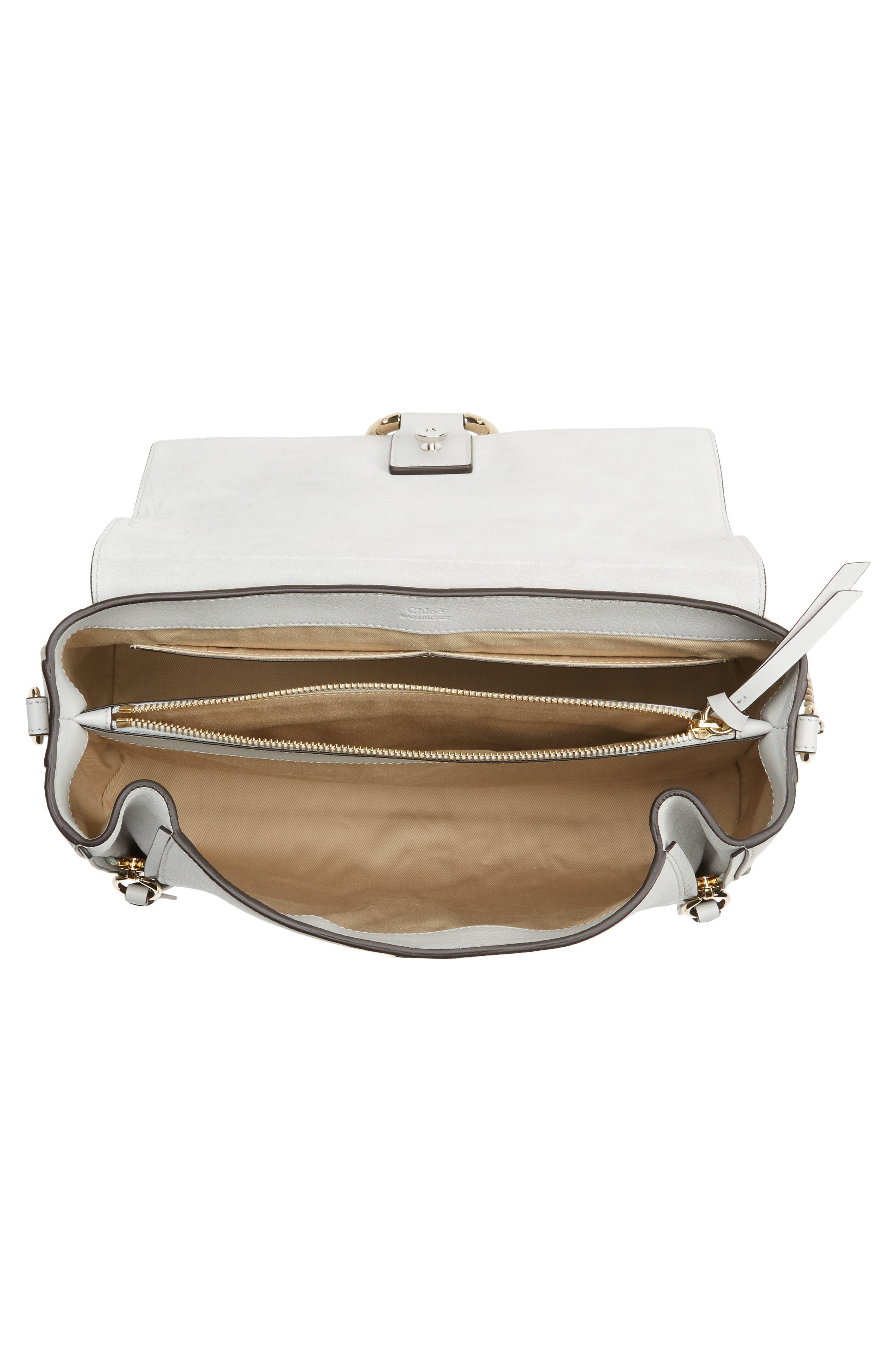 Alternate Image 6  - Chloé Medium Faye Leather Shoulder Bag