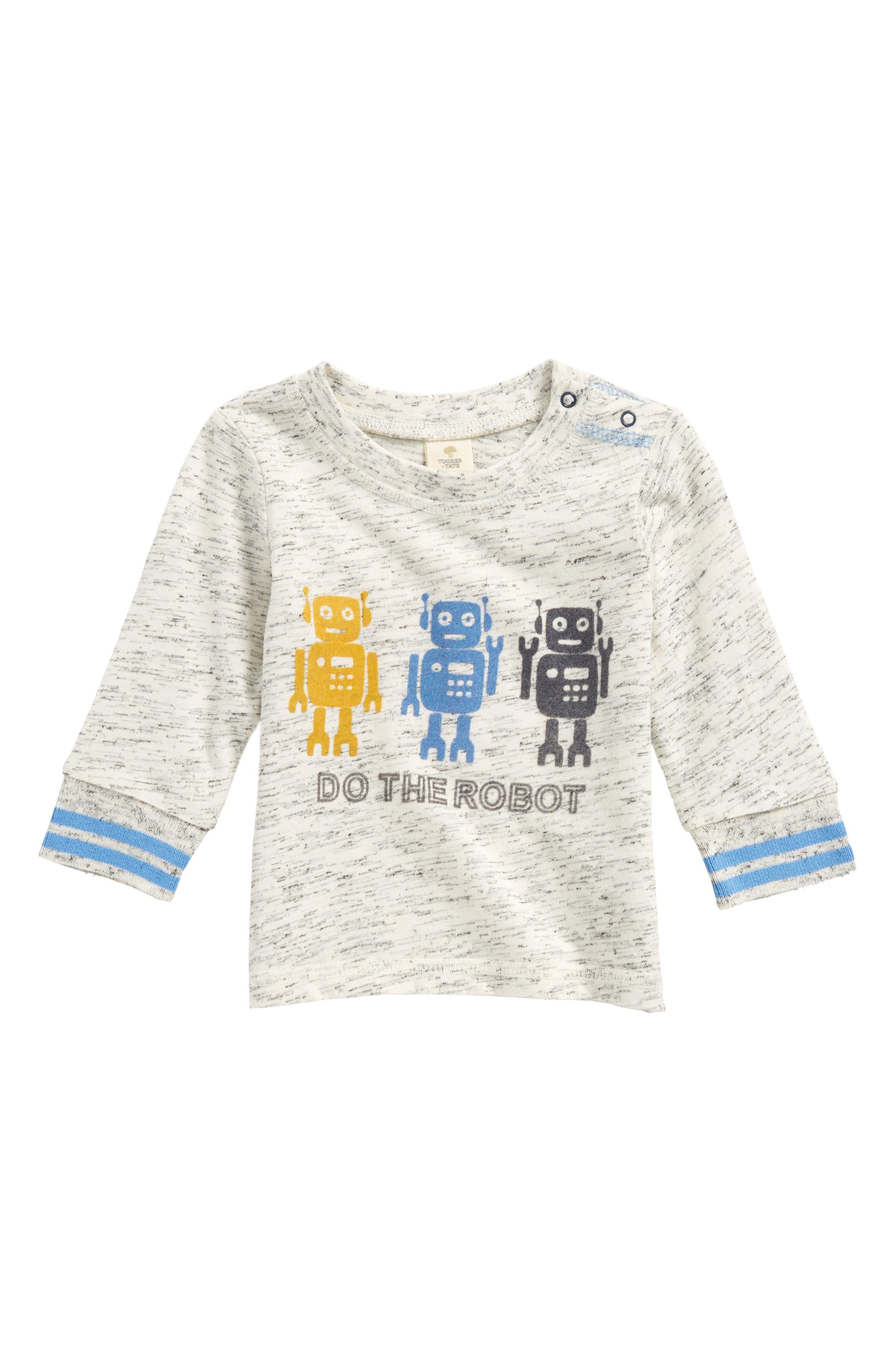 Alternate Image 1 Selected - Tucker + Tate Robot T-Shirt (Baby Boys)