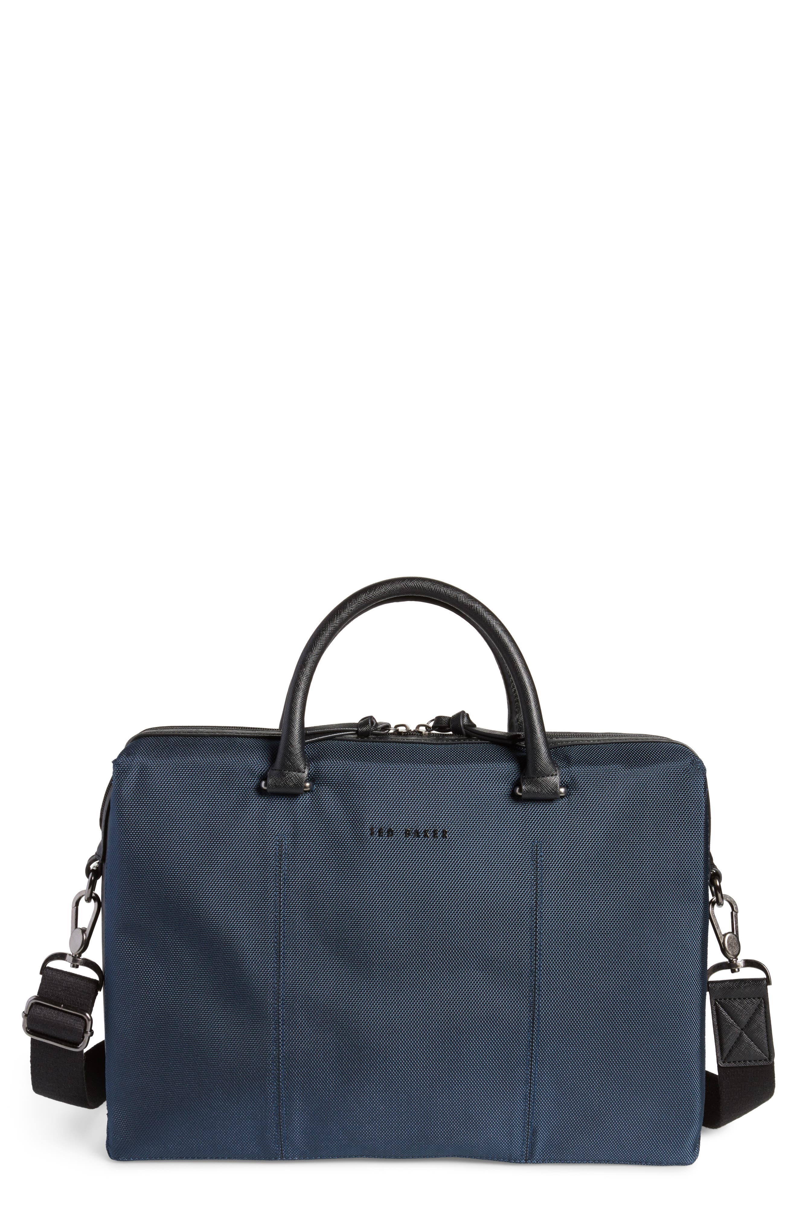 Document Bag,                             Main thumbnail 1, color,                             Navy